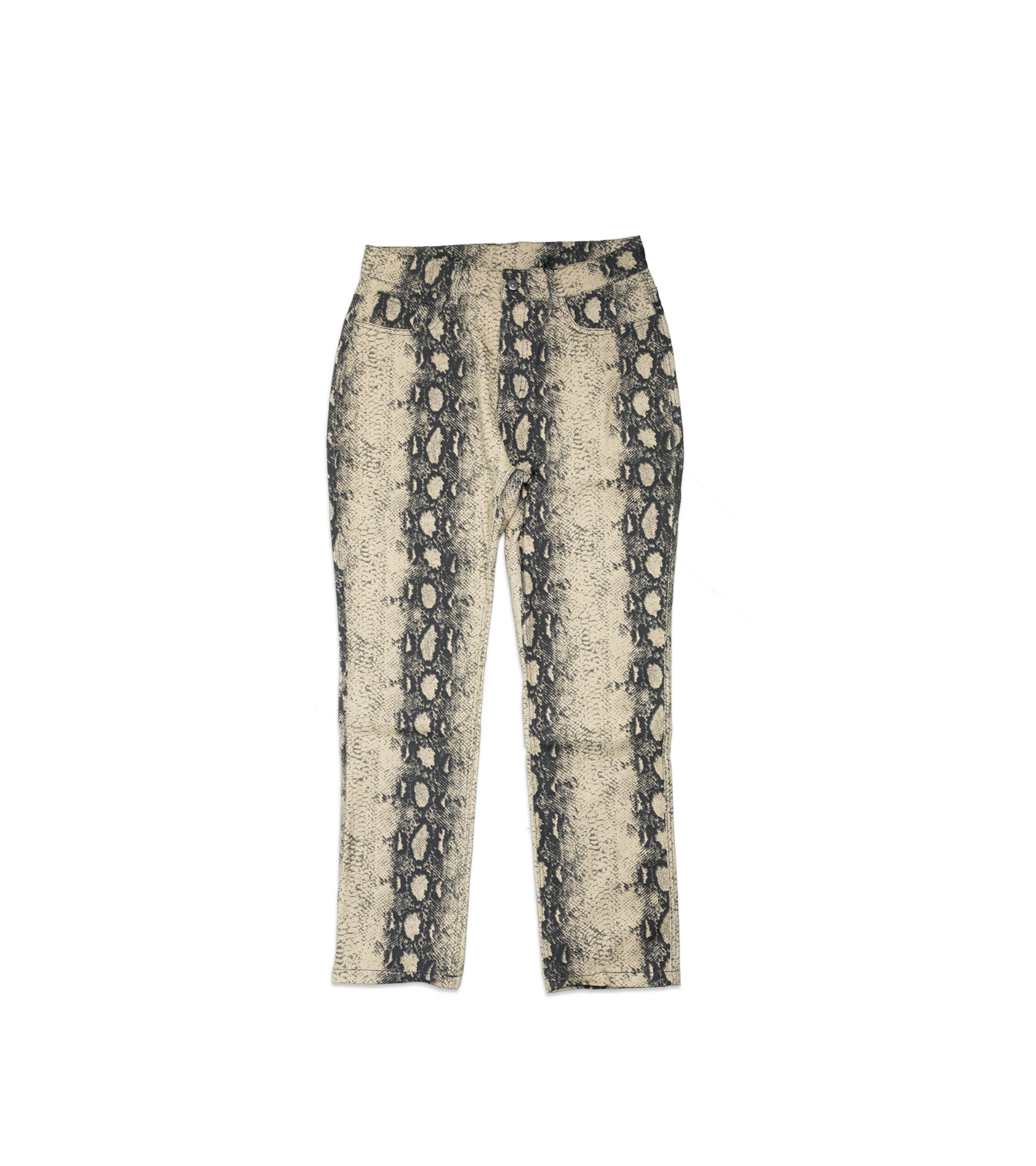 "Intercourse Snakeskin Pant ""Tan""-1"