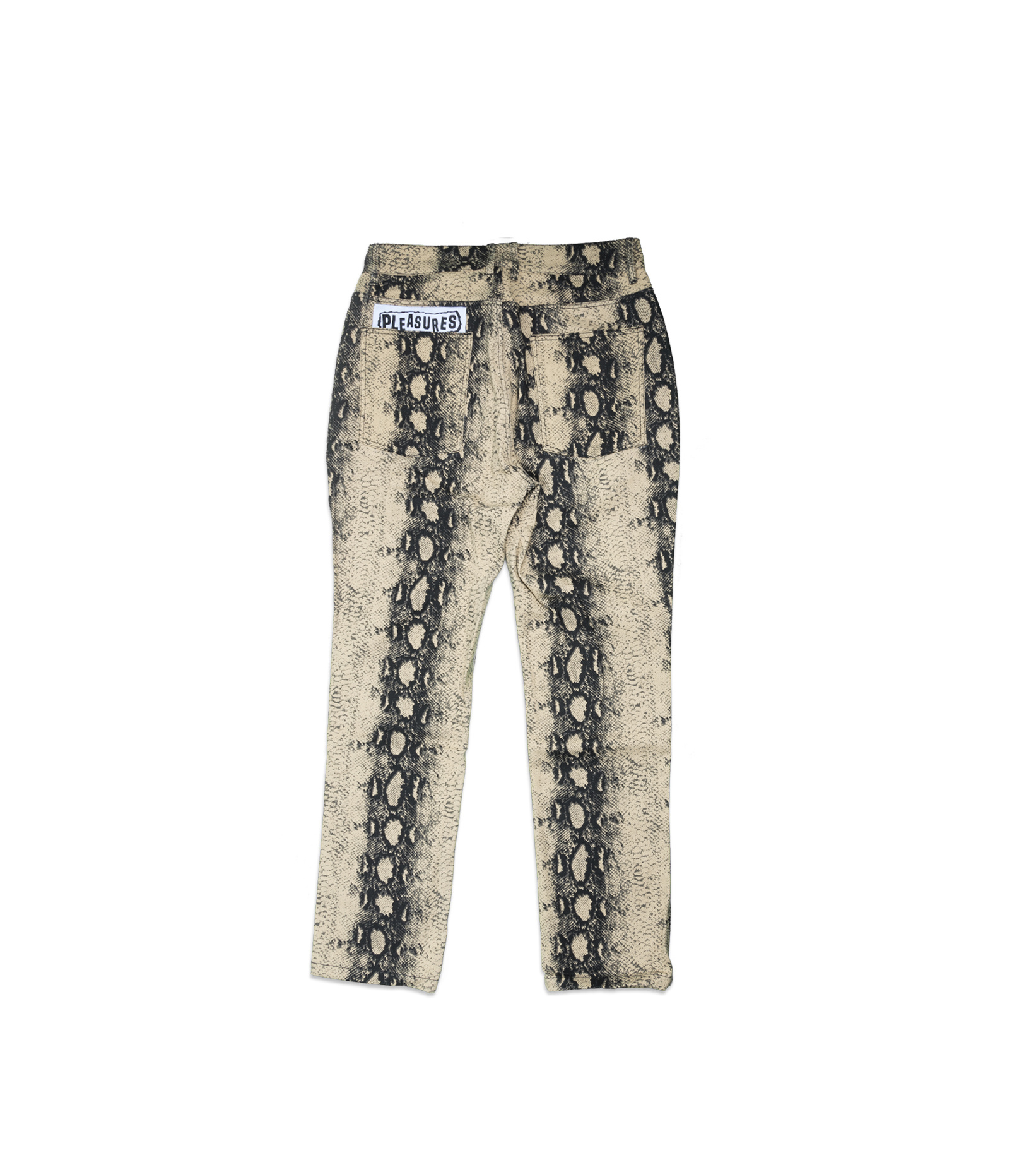 "Intercourse Snakeskin Pant ""Tan""-4"
