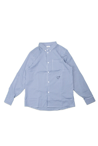 "Checkered Shirt x Human Made ""Navy"""