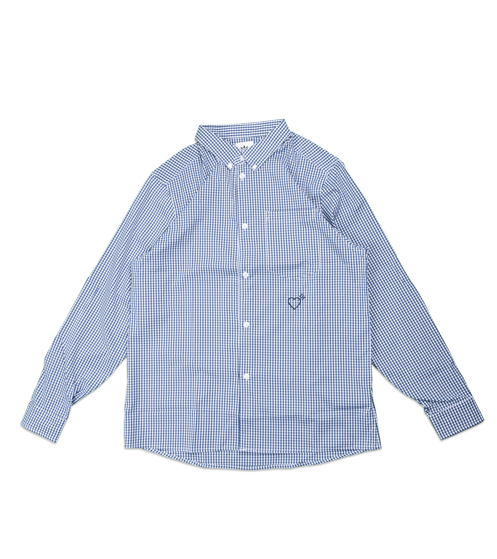 "Checkered Shirt x Human Made ""Navy""-1"