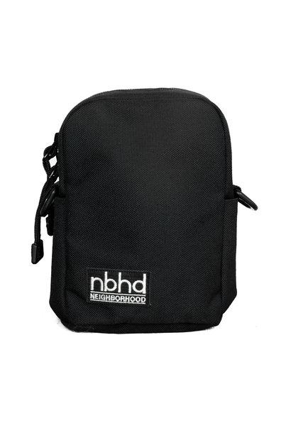 """Cordura Nylon Shoulderbag """"Black"""""""