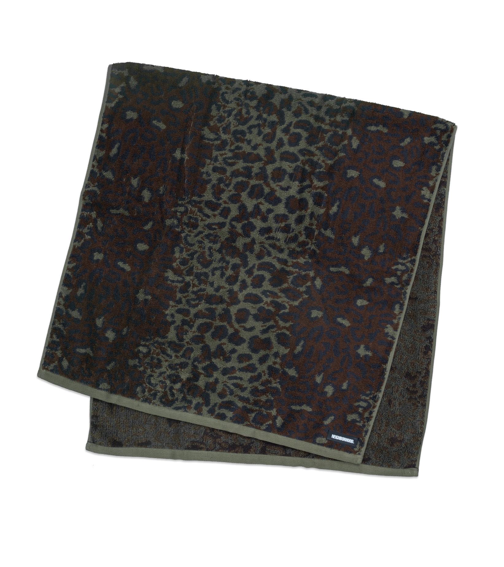 """Towel (Small) """"Leopard""""-1"""