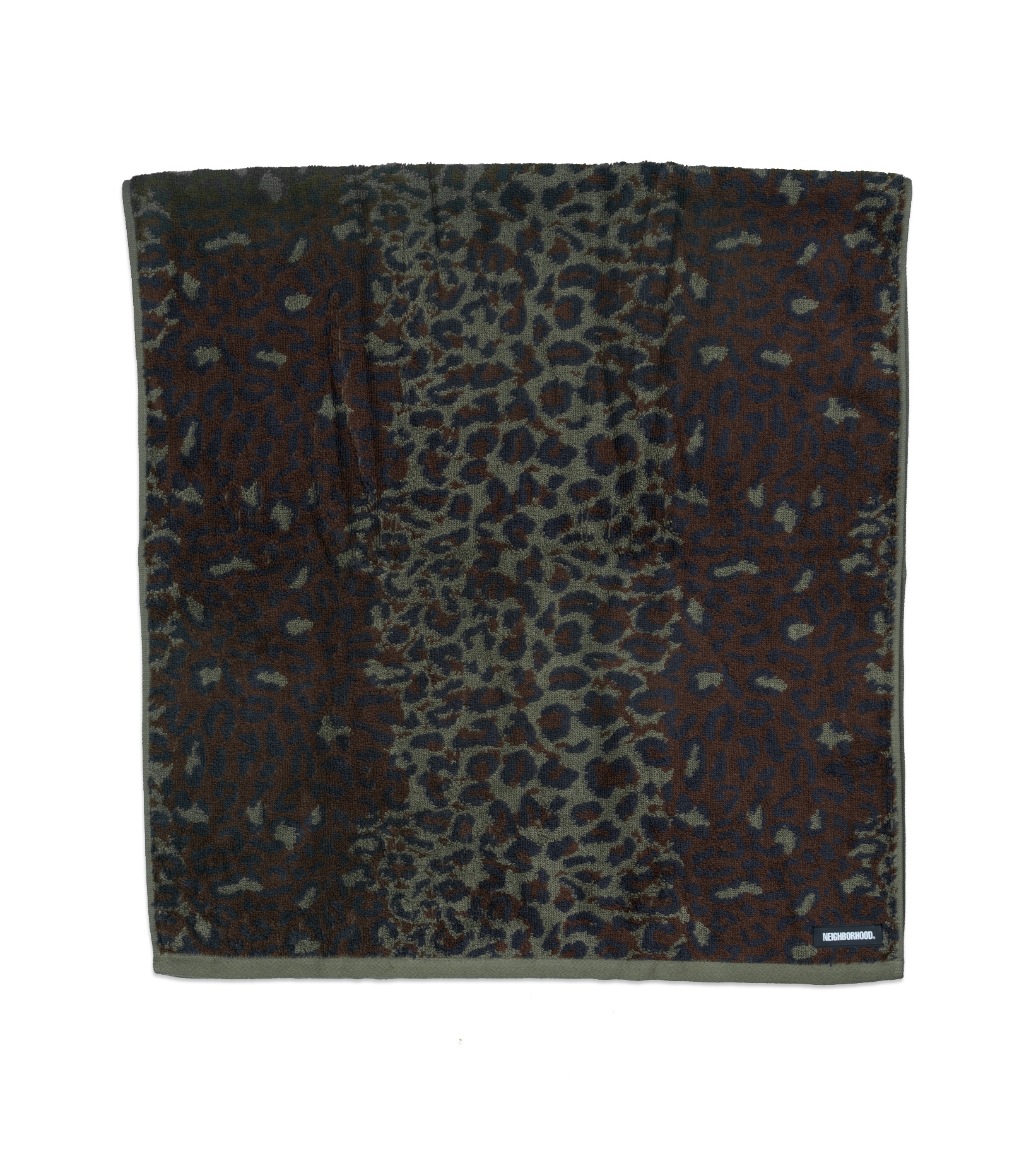 """Towel (Small) """"Leopard""""-3"""