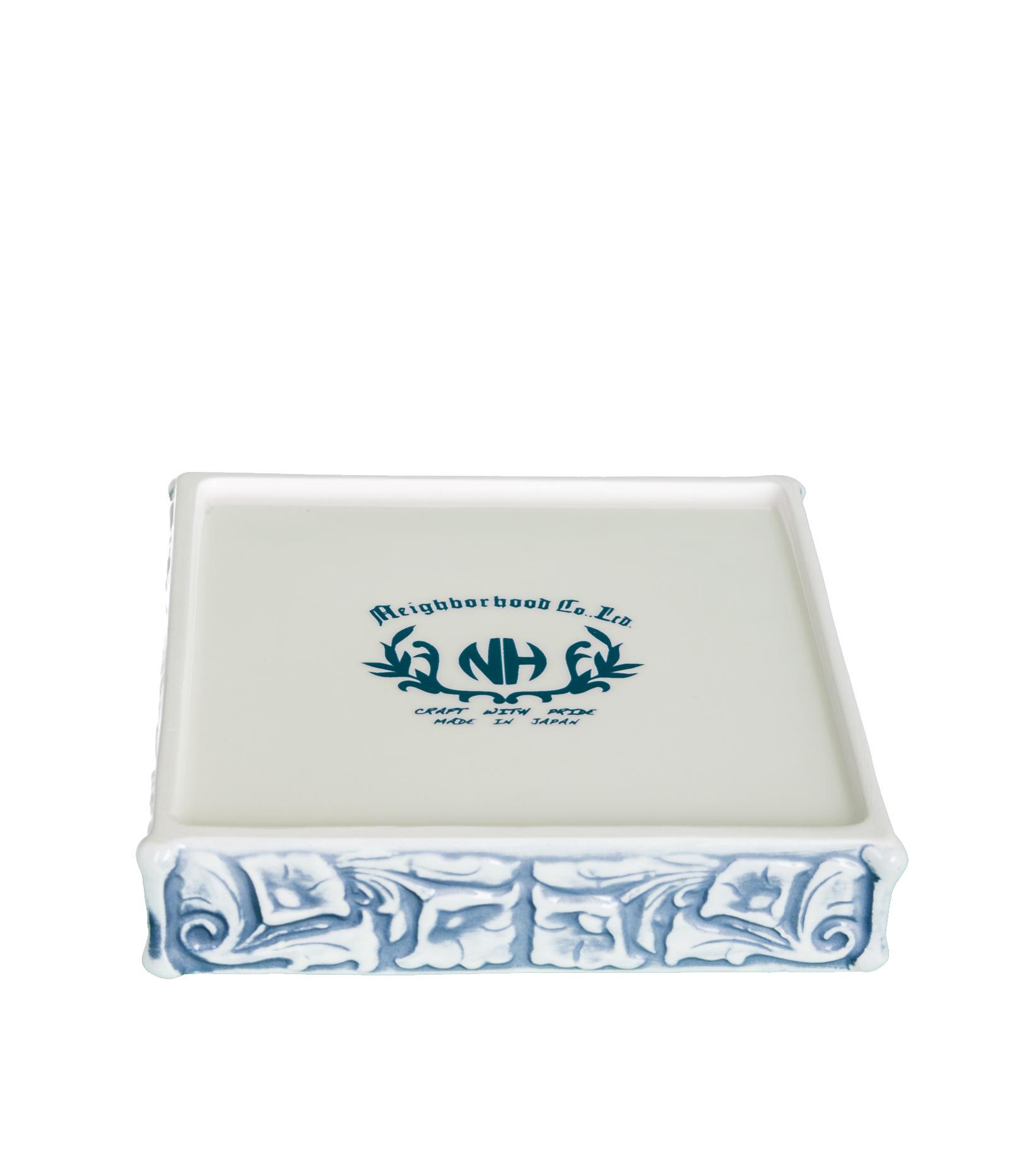"Thinking Monkey Ceramic Incense Chamber ""Blue""-6"