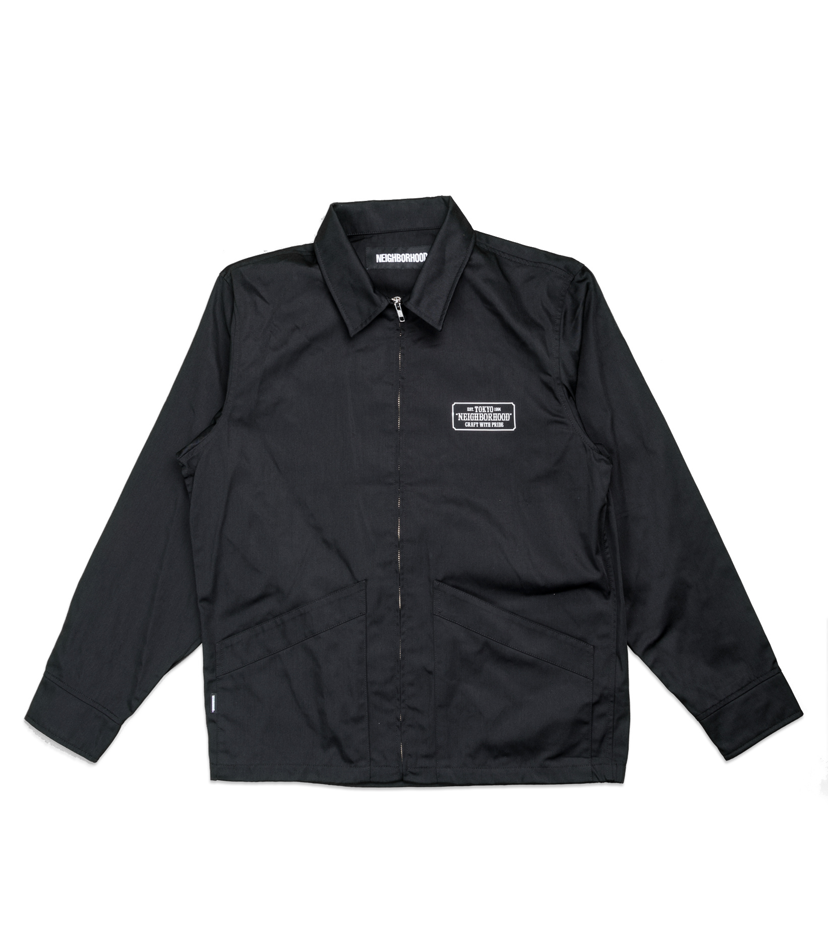 "Drizzler Jacket ""Black""-1"