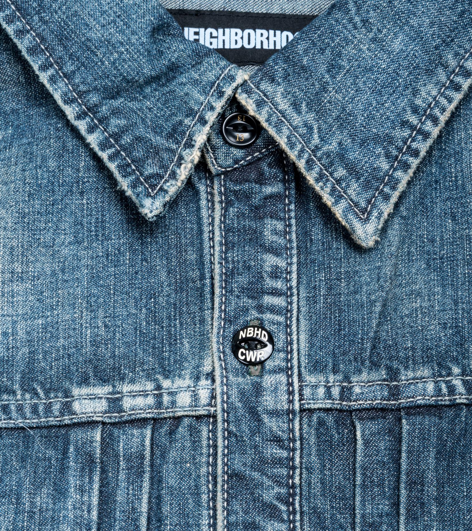 "Savage Denim Shirt ""Indigo""-4"