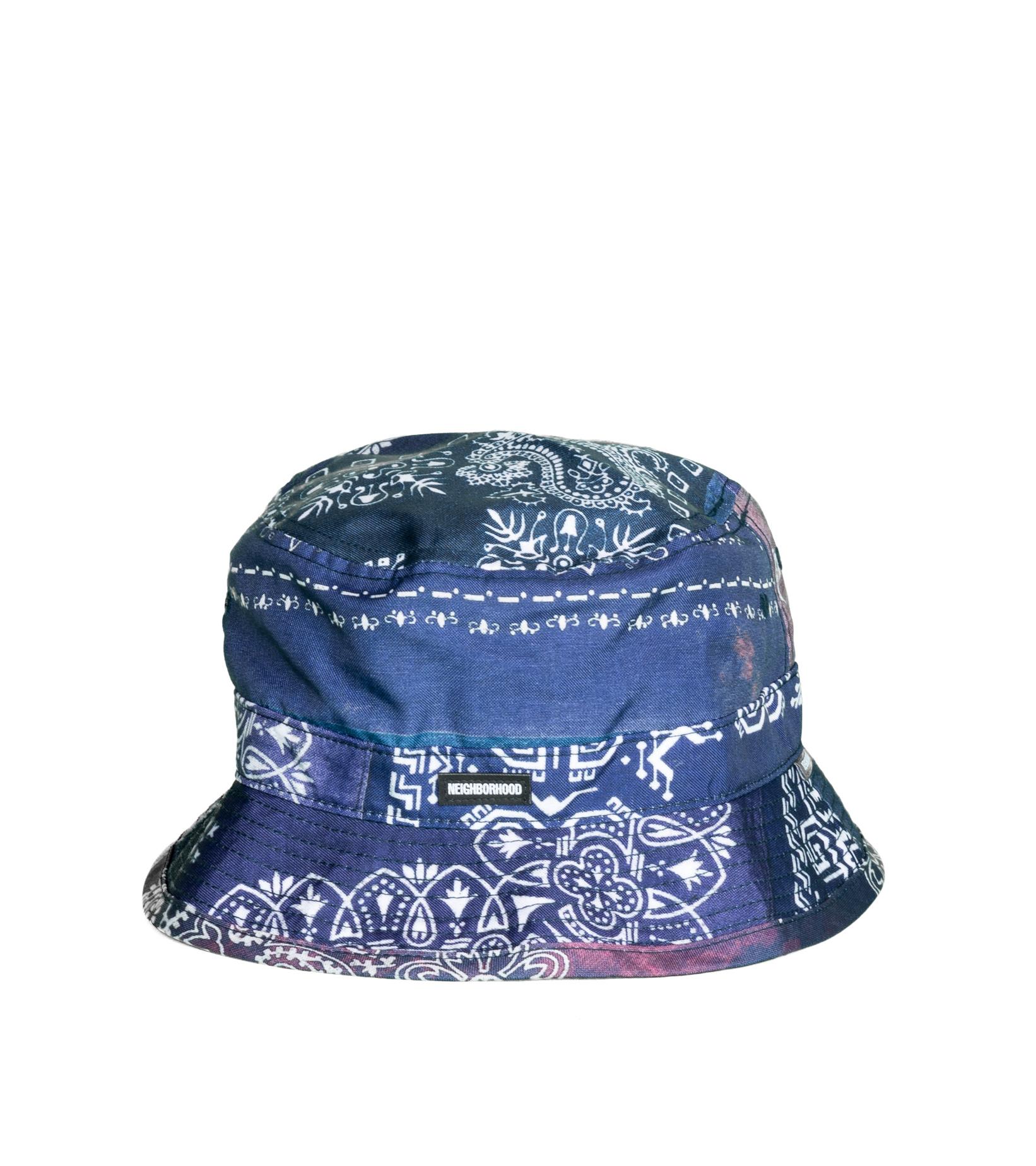"""Bucket Hat """"Navy""""-1"""