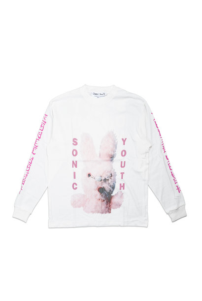"Graphic LS Tee x Sonic Youth ""White"""