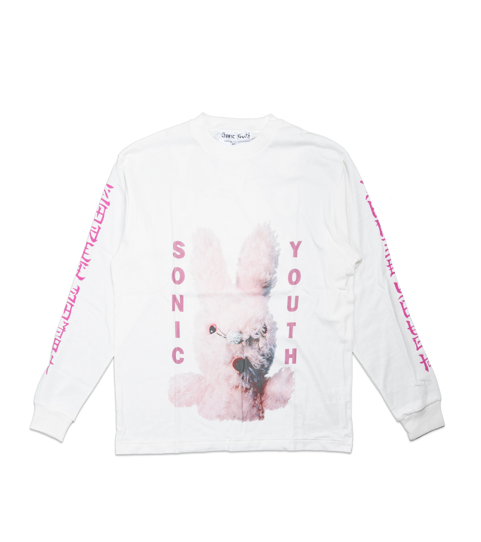 """Graphic LS Tee x Sonic Youth """"White""""-1"""