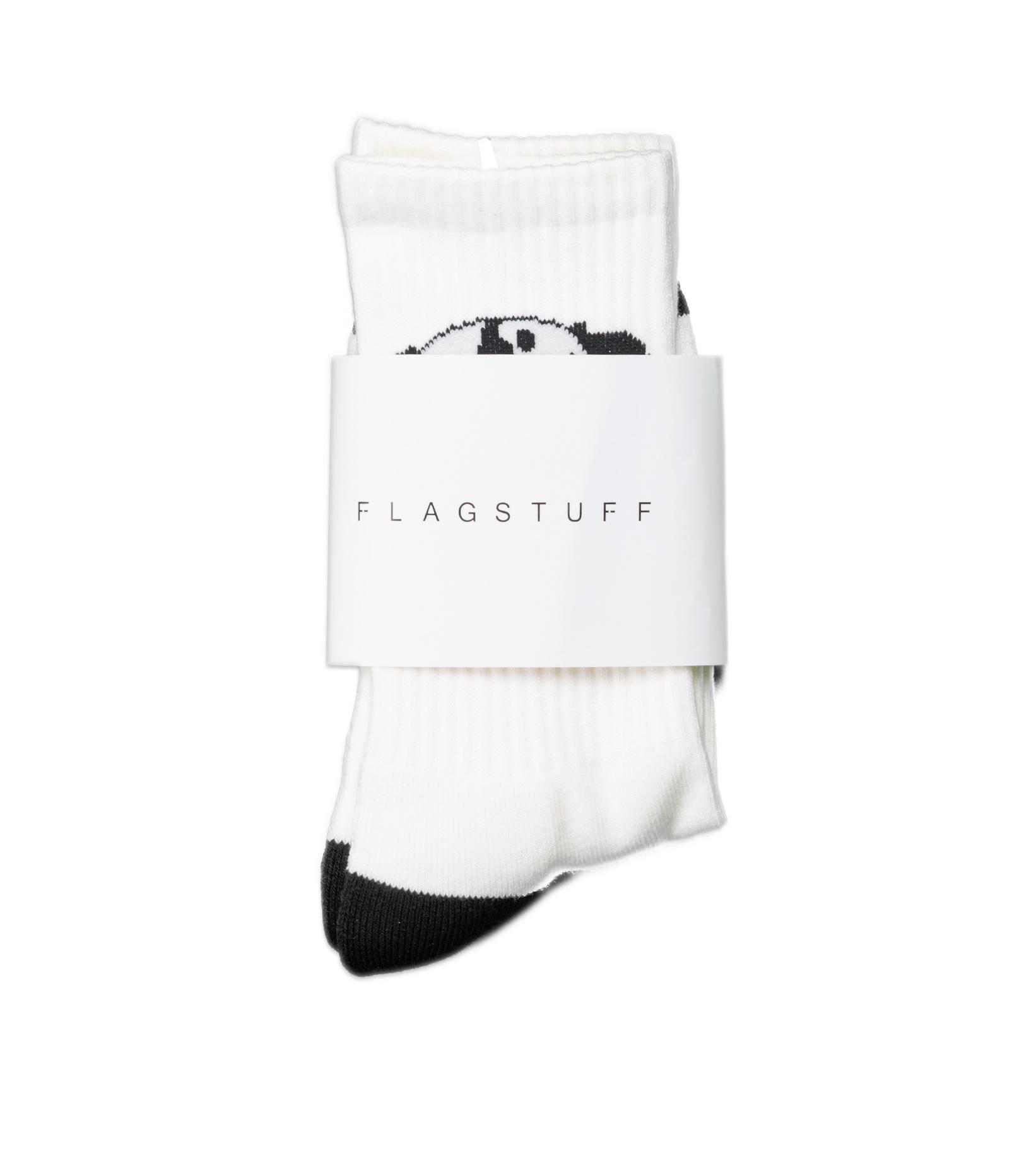 "Panda Socks ""White/Black""-1"
