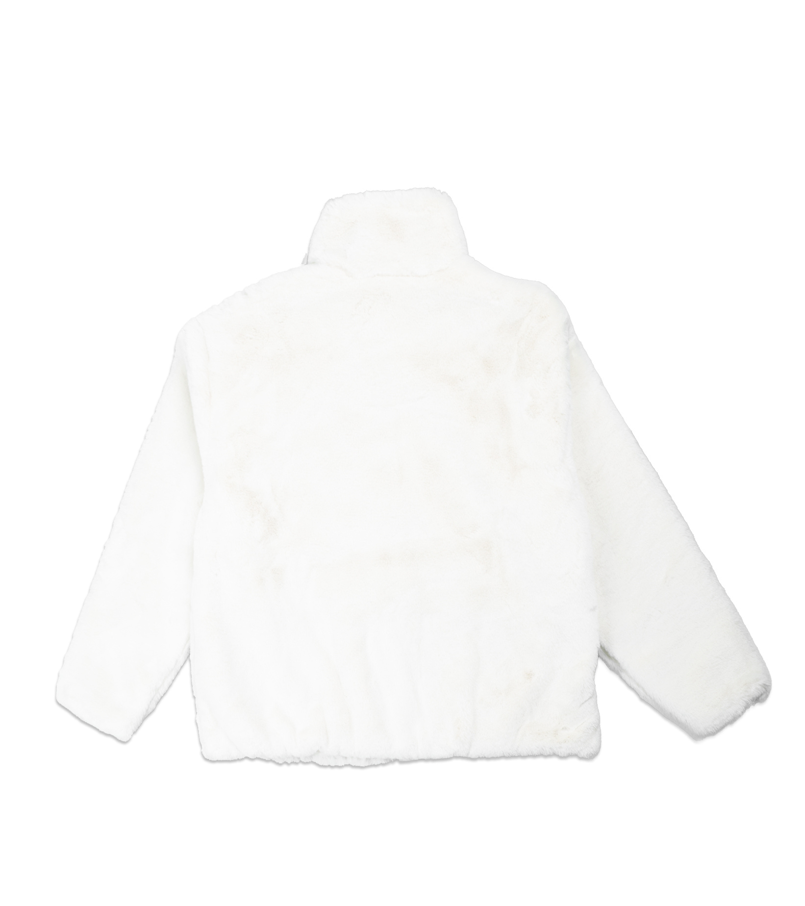 "Swoosh Faux Fur Jacket ""White/Fossil""-4"