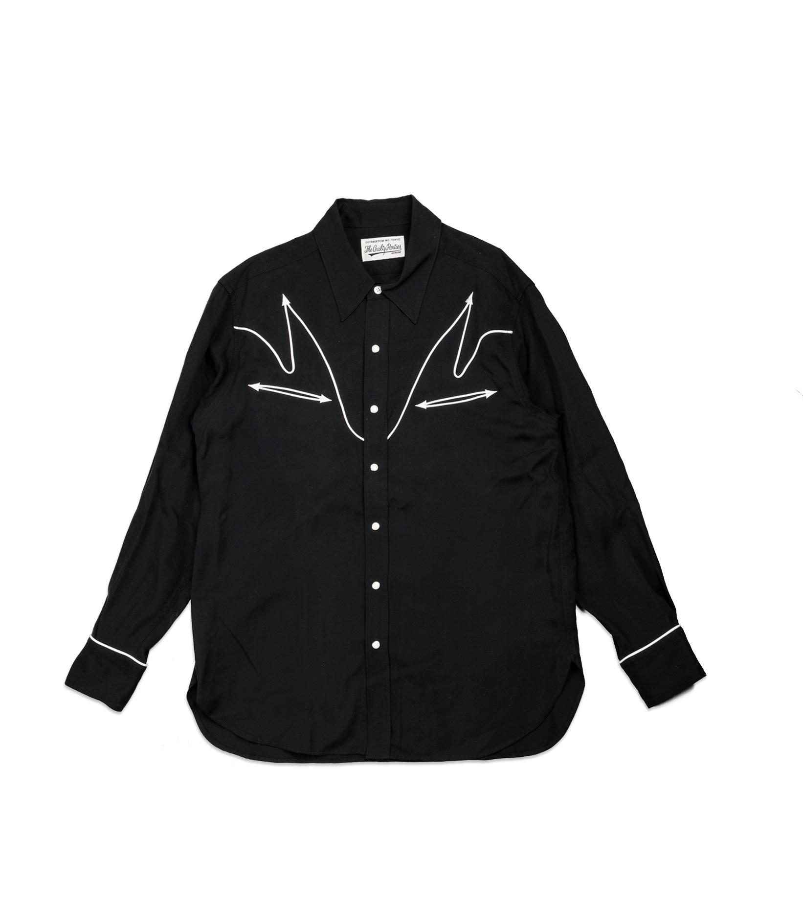 "Western Shirt ""Black""-1"