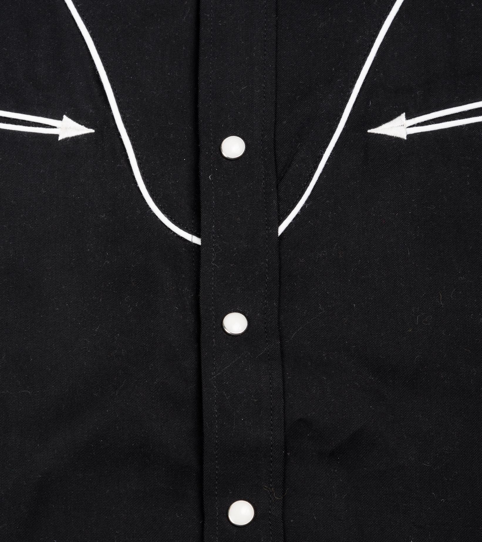 "Western Shirt ""Black""-3"