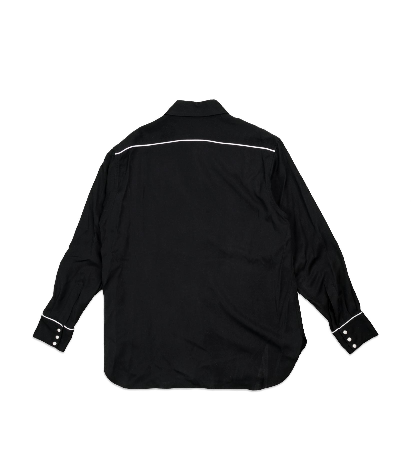 "Western Shirt ""Black""-4"