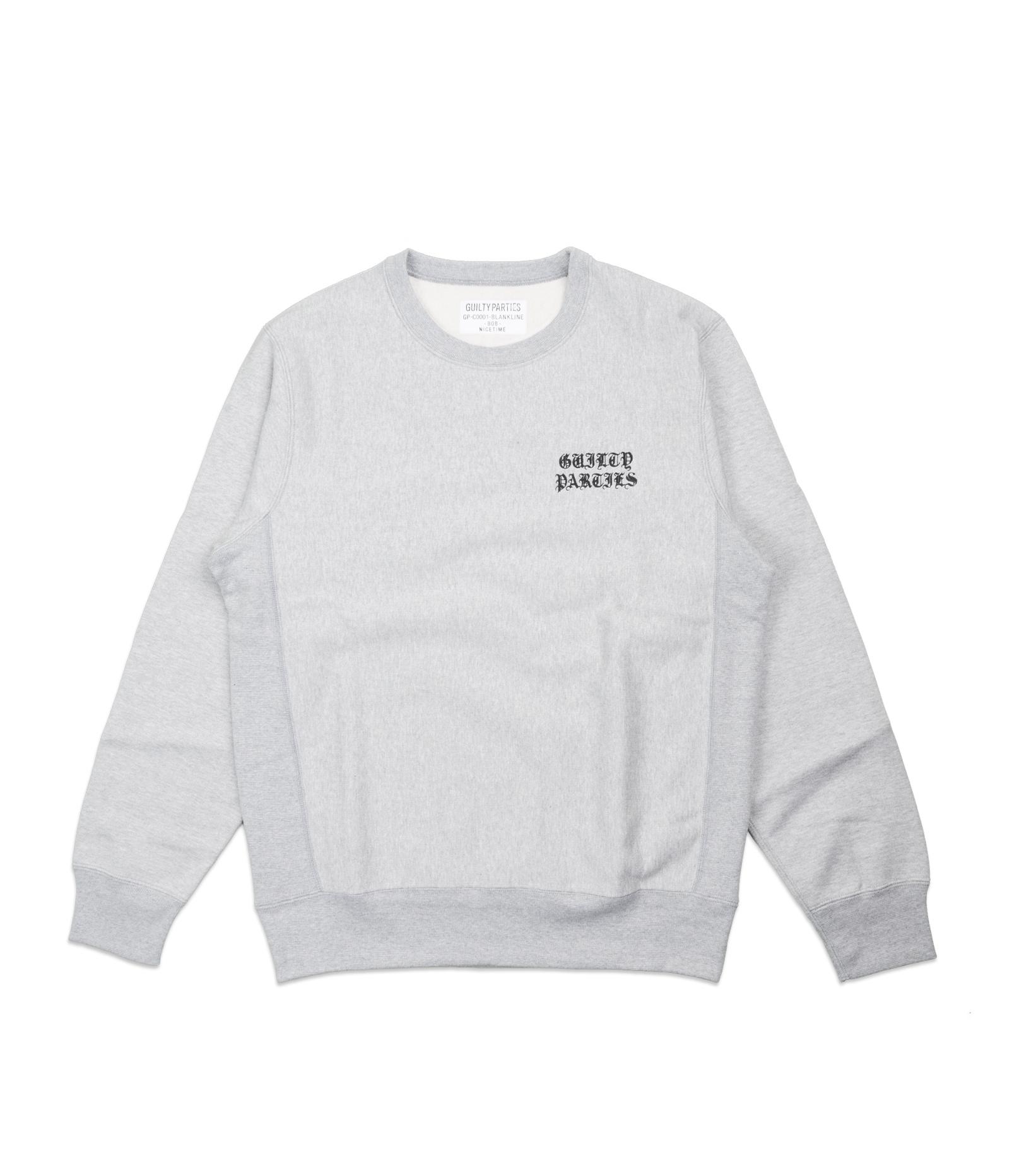 "Heavyweight Sweatshirt ""Gray""-1"