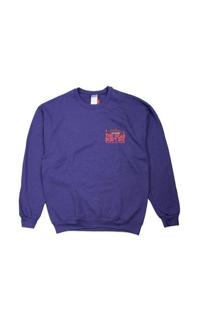 """Sweatshirt x The Dead Don't Die """"Purple"""""""