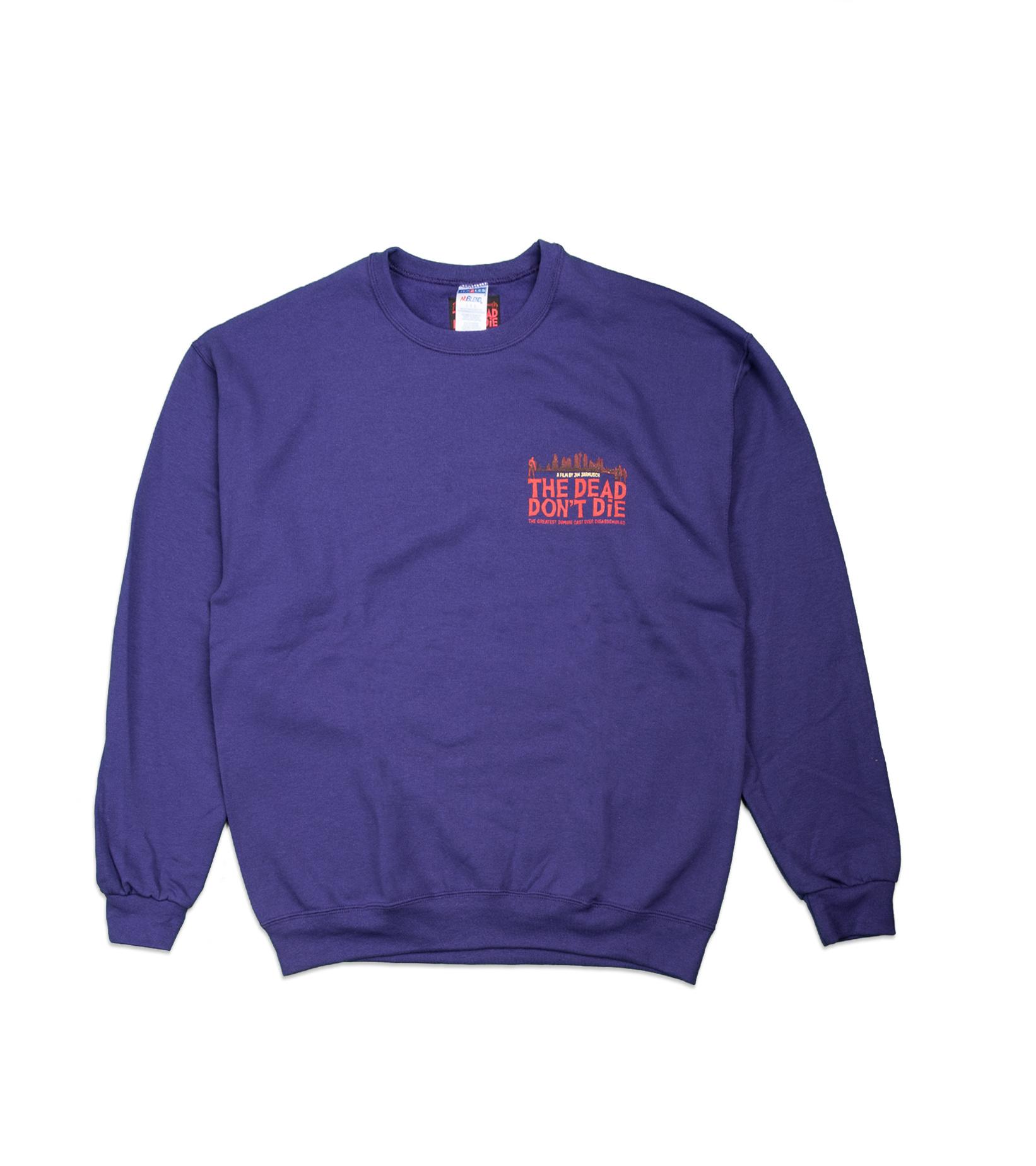 """Sweatshirt x The Dead Don't Die """"Purple""""-1"""