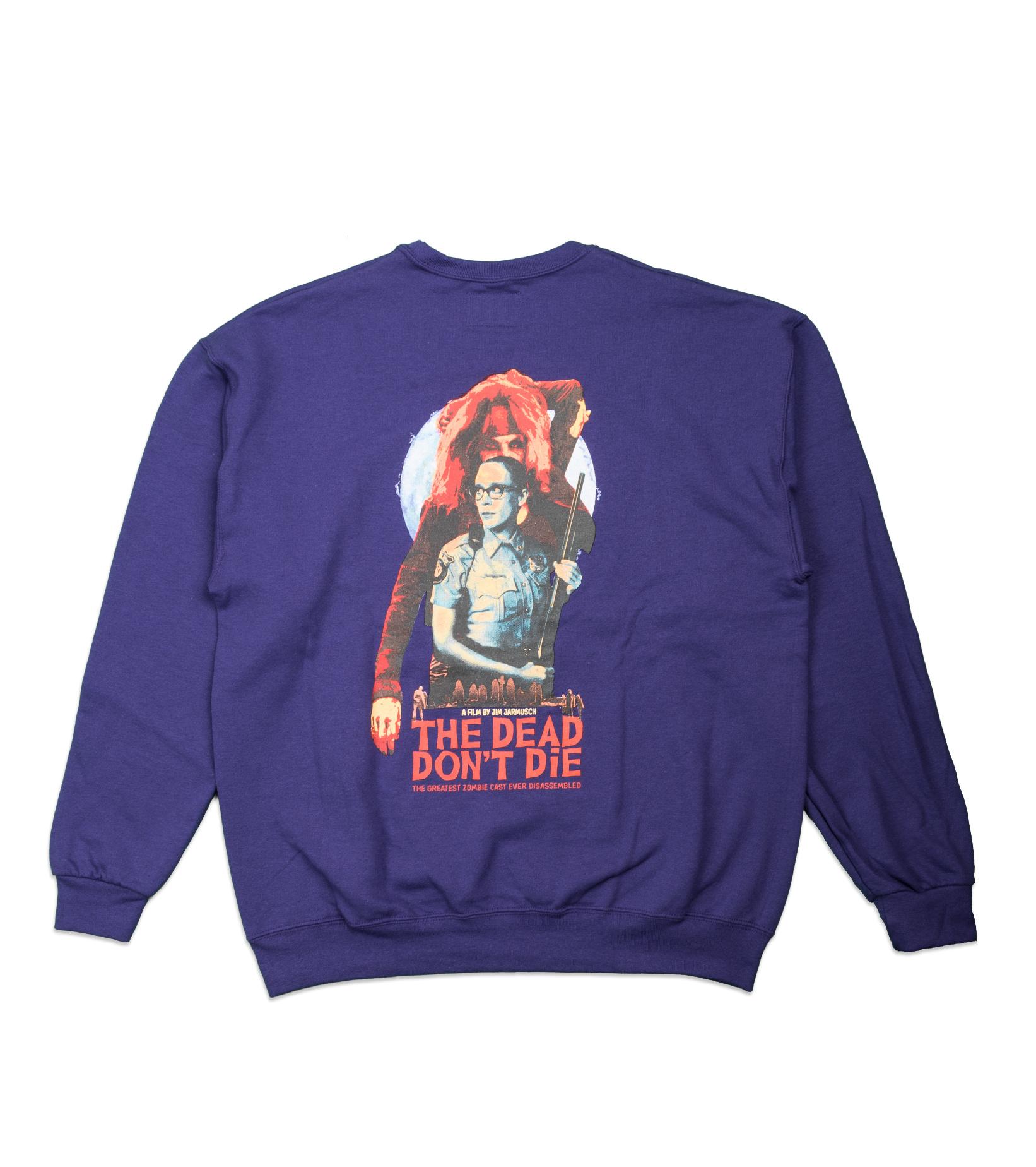"""Sweatshirt x The Dead Don't Die """"Purple""""-3"""