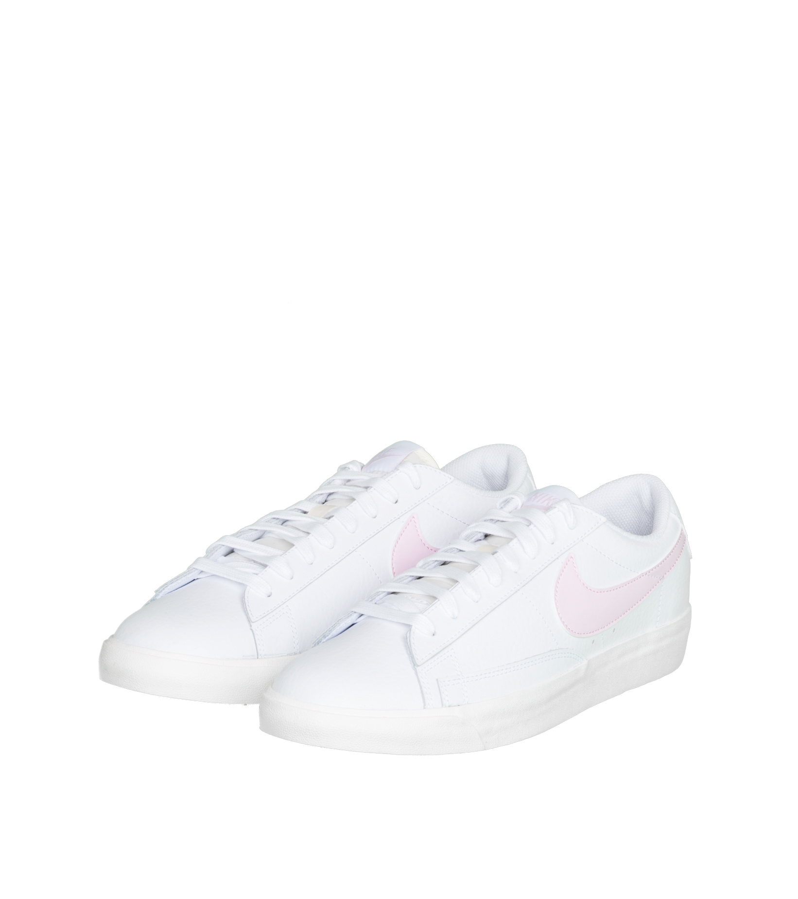 "Blazer Low Leather ""White/Pink Foam""-1"