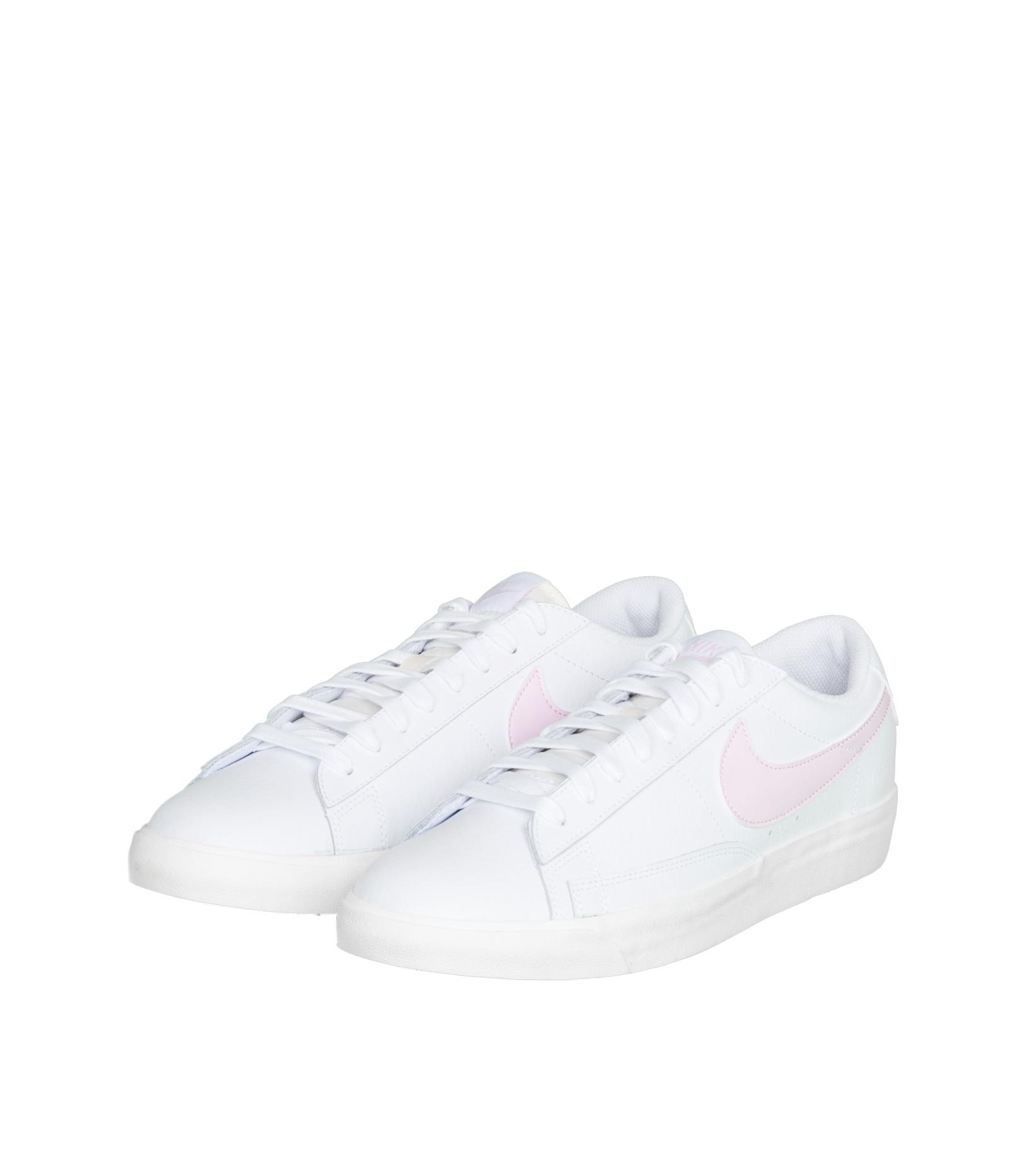 """Blazer Low Leather """"White/Pink Foam""""-1"""