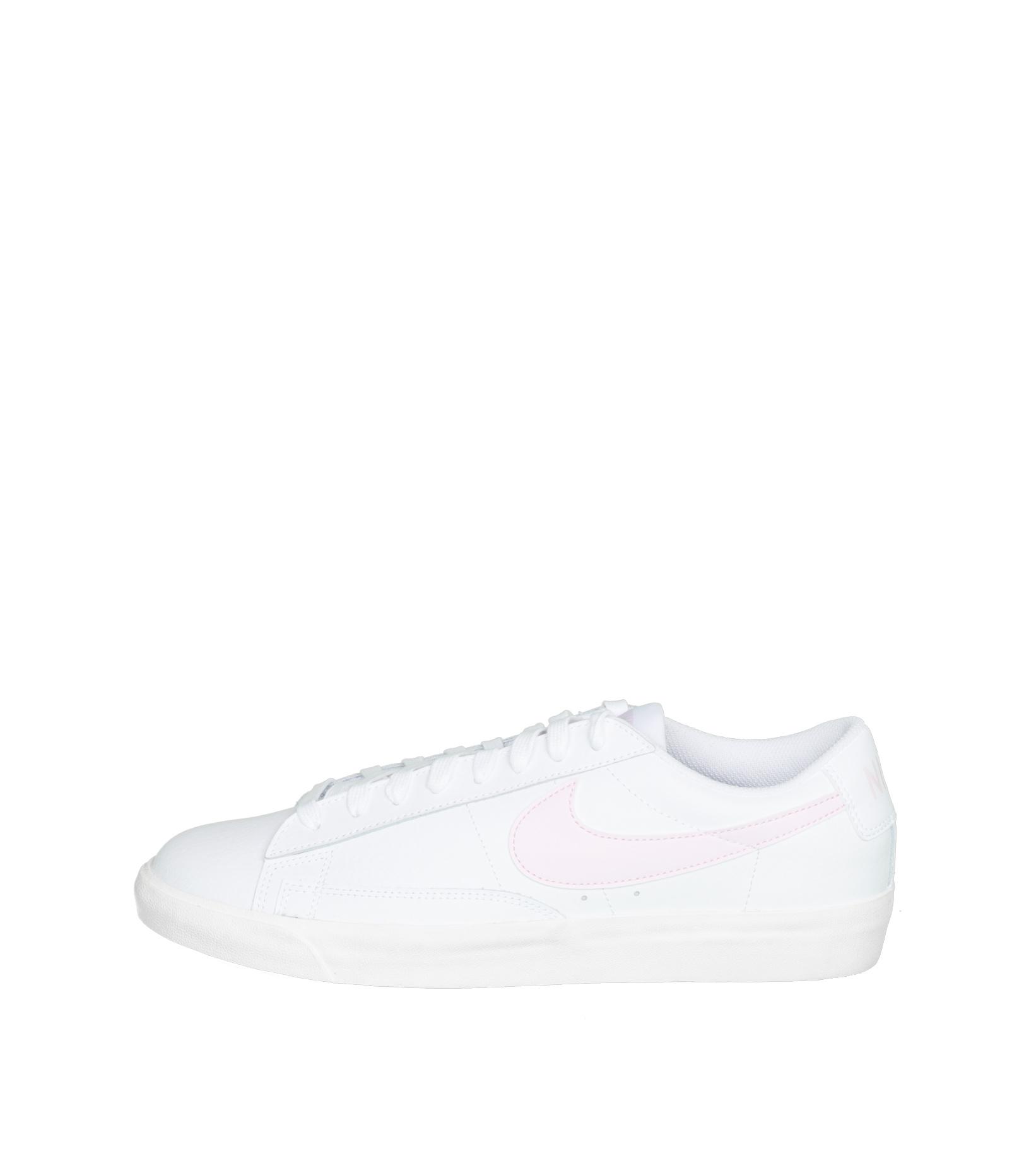 """Blazer Low Leather """"White/Pink Foam""""-3"""