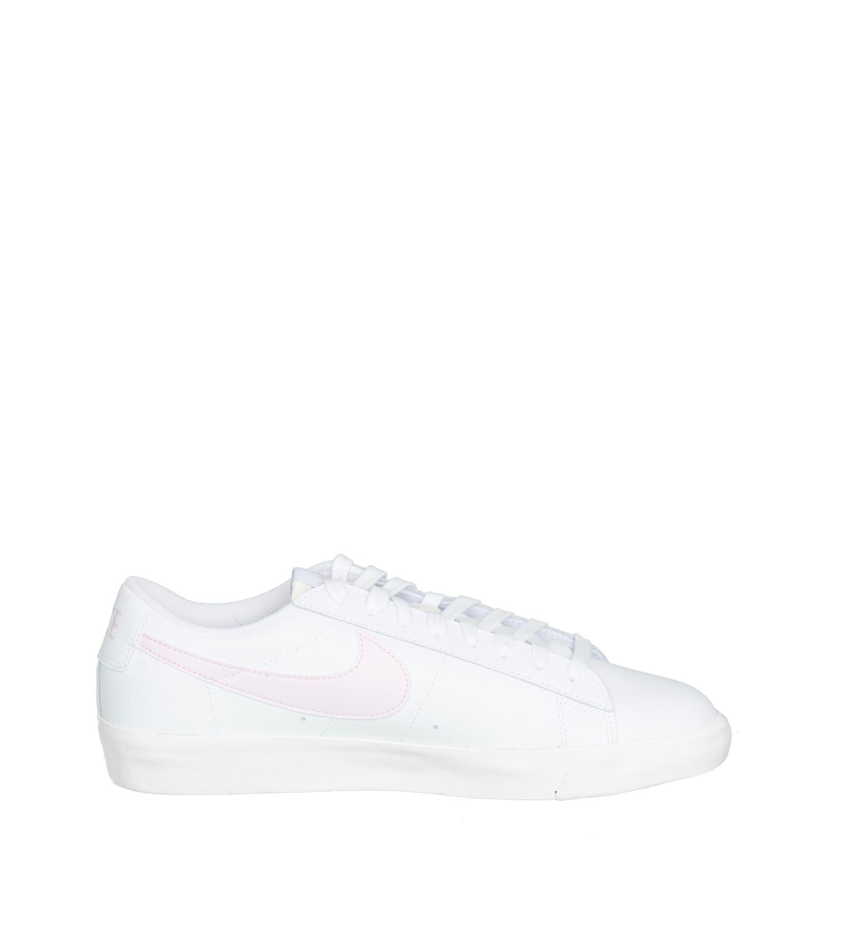 """Blazer Low Leather """"White/Pink Foam""""-4"""