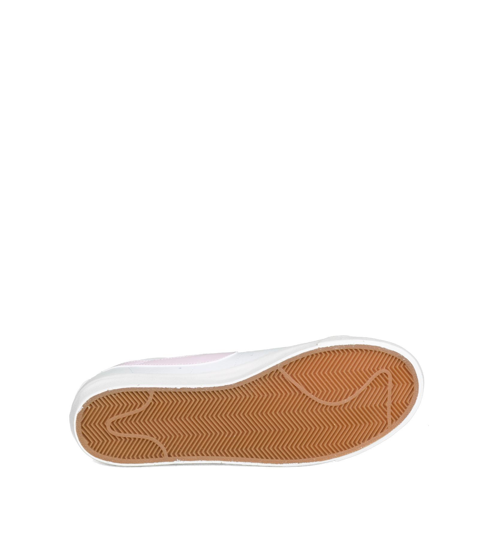 """Blazer Low Leather """"White/Pink Foam""""-5"""