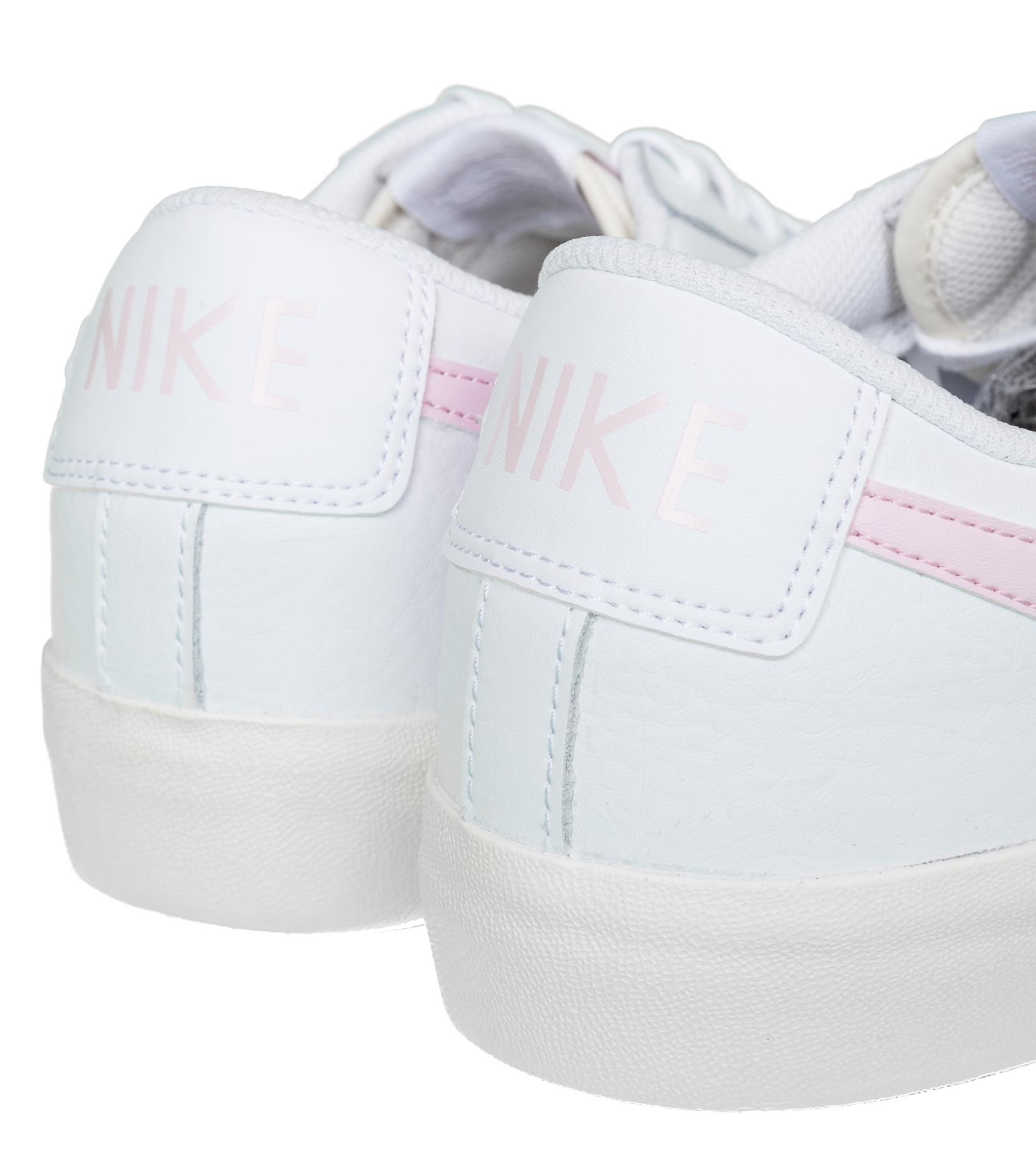 """Blazer Low Leather """"White/Pink Foam""""-6"""