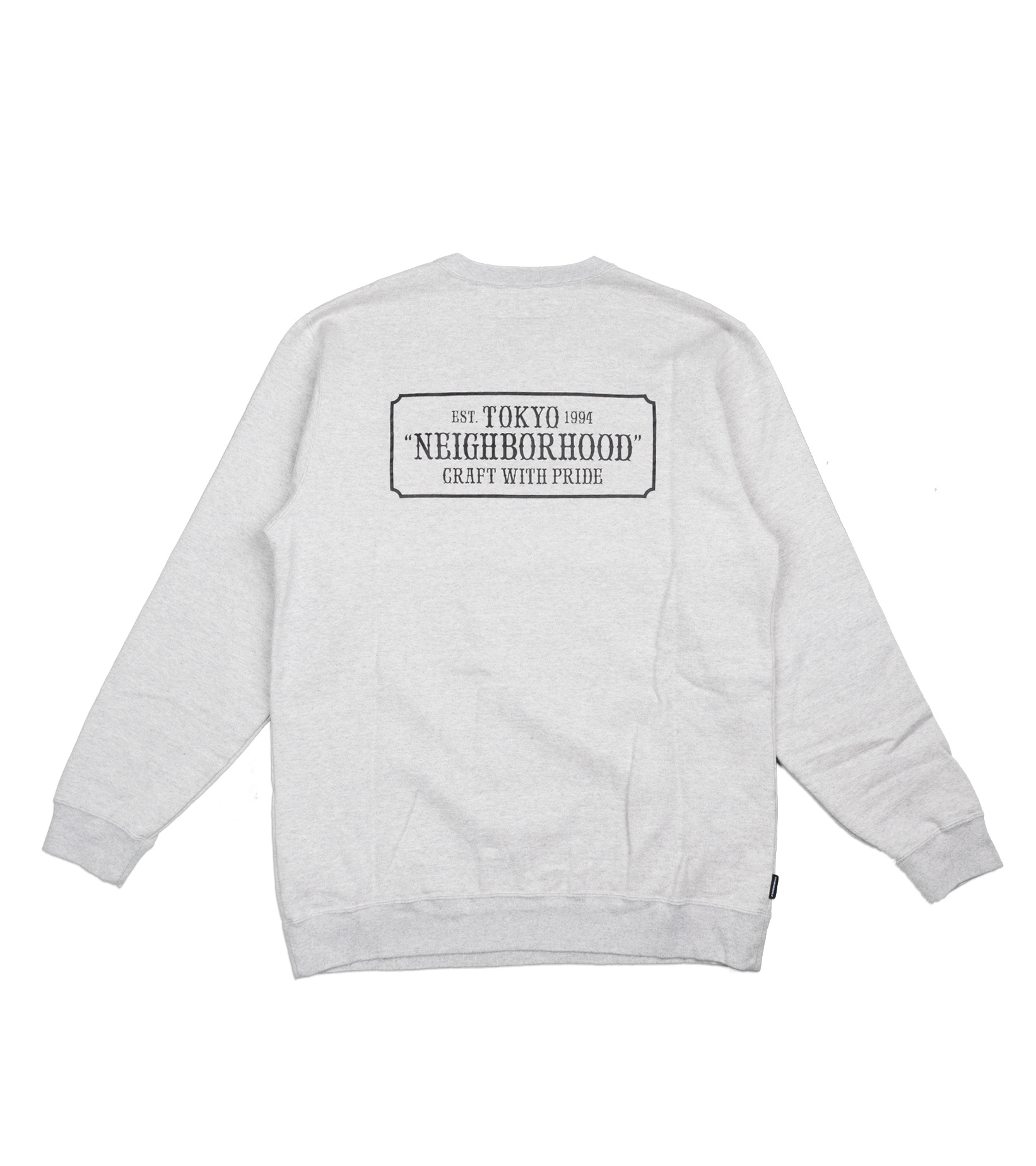 "Classic Sweatshirt ""Grey""-3"
