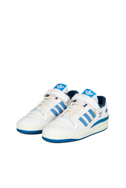 "Forum 84 Low Blue Thread ""Vintage White/Blue"""