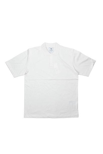 """Y-3 Pique Polo Shirt """"White"""""""