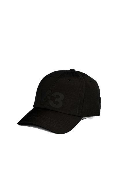 """Y-3 Ripstop Logo Cap """"Black"""""""