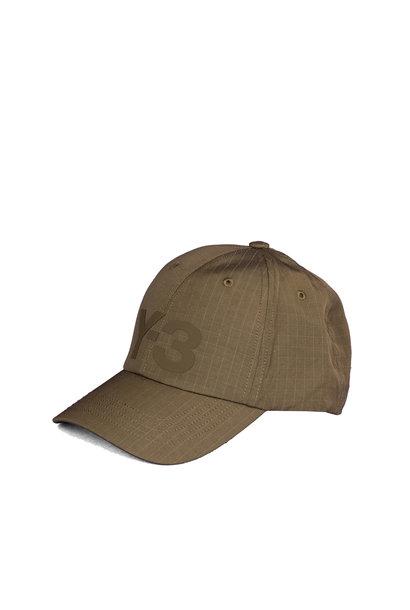 """Y-3 Ripstop Logo Cap """"Dark Olive"""""""