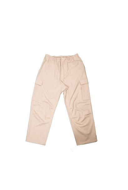 "Y-3 Wool Stretch Cargo Pants ""Sand"""