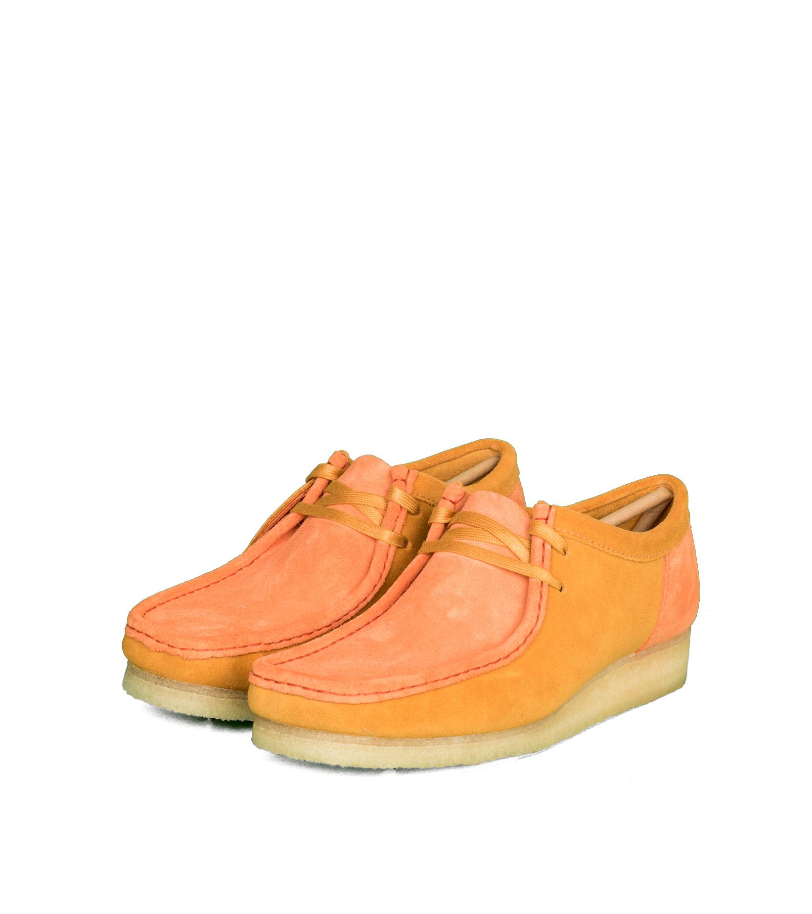 """Wallabee 2CLR """"Orange Combi""""-1"""