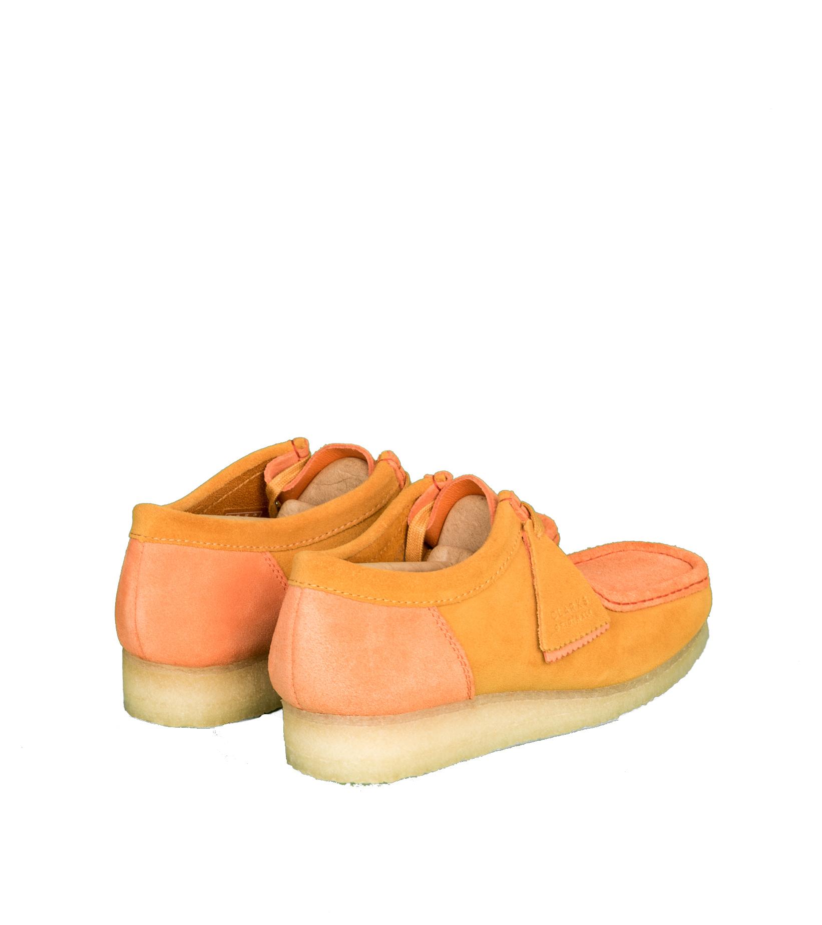 """Wallabee 2CLR """"Orange Combi""""-2"""