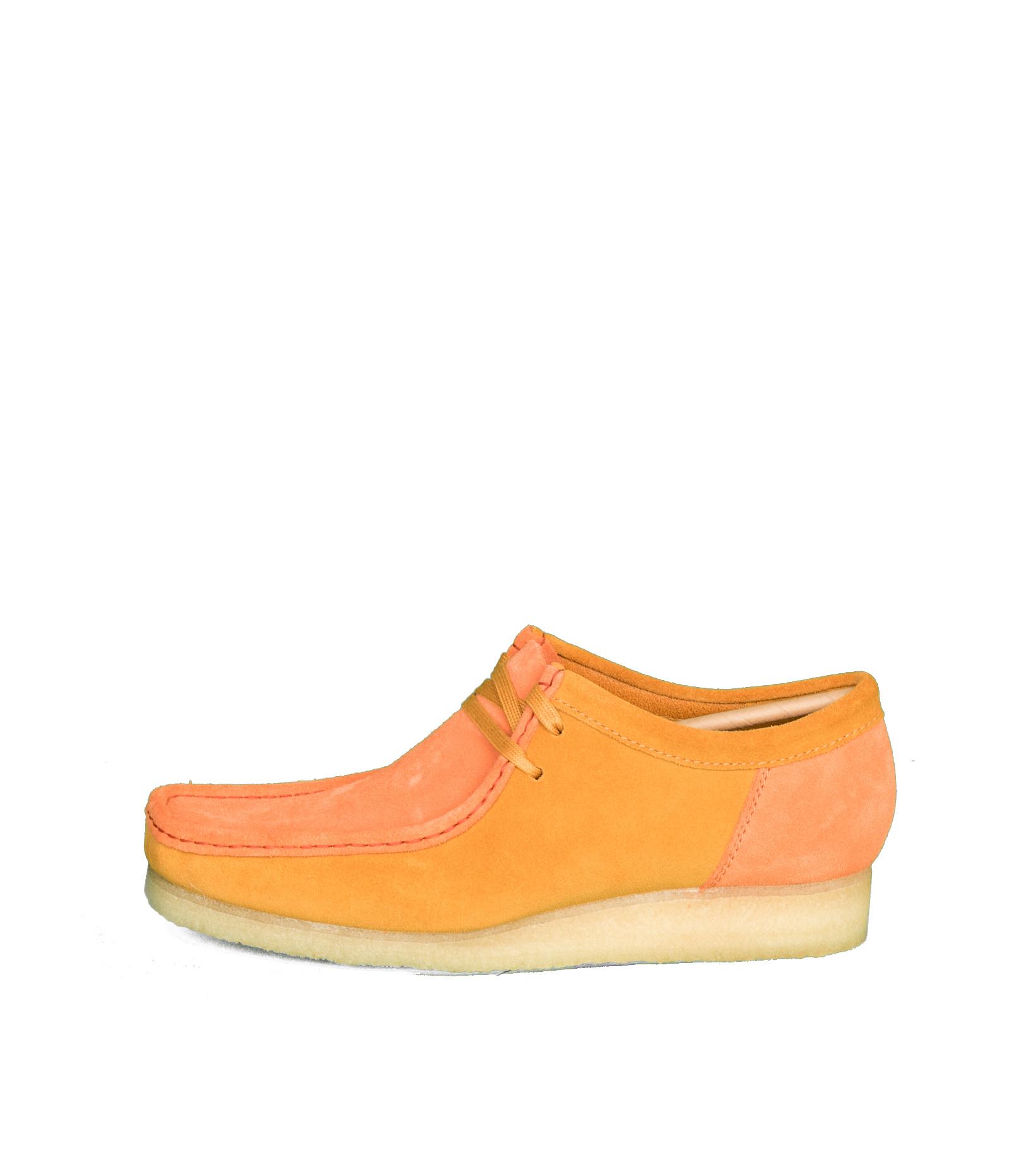 """Wallabee 2CLR """"Orange Combi""""-3"""