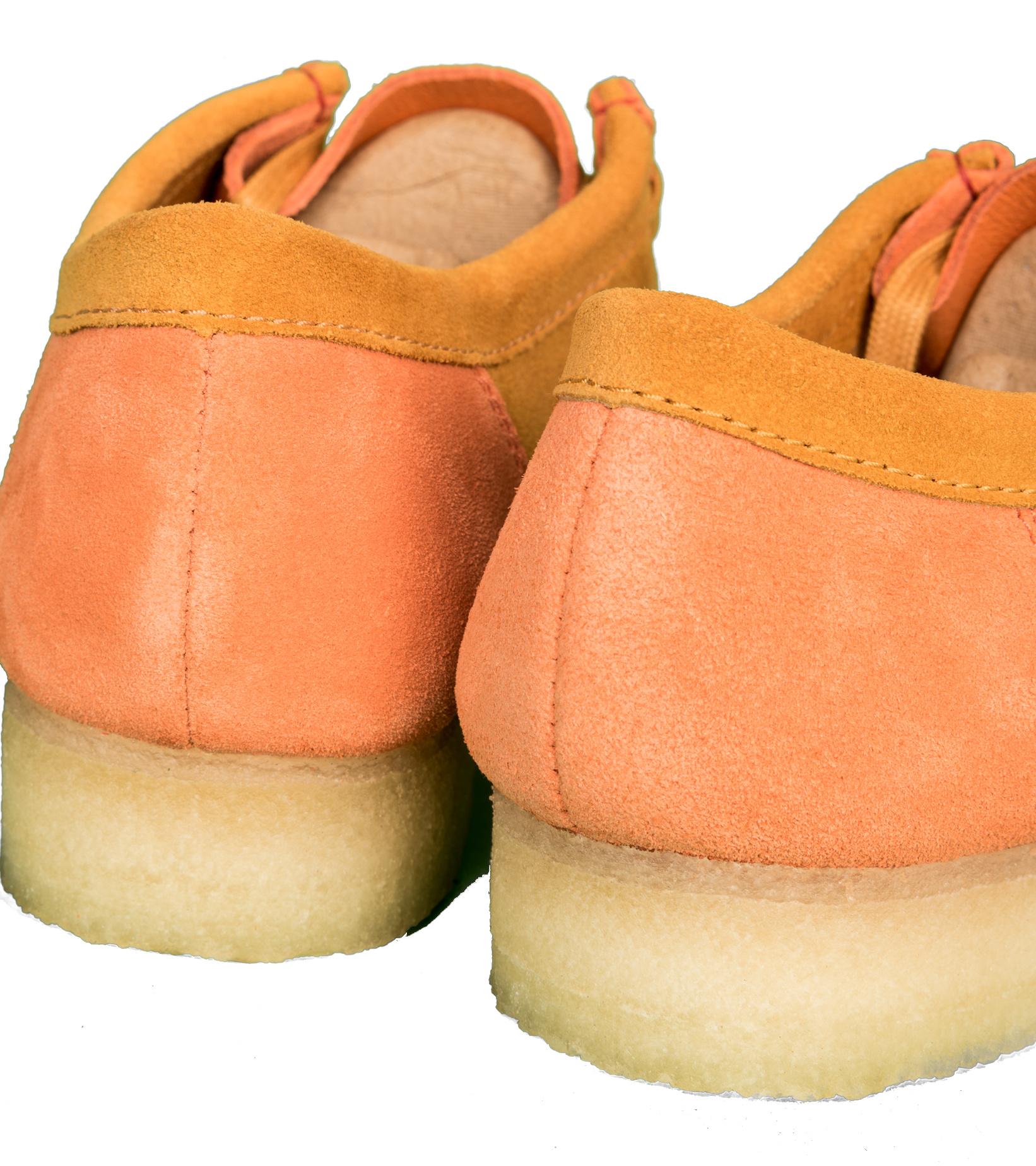 """Wallabee 2CLR """"Orange Combi""""-6"""