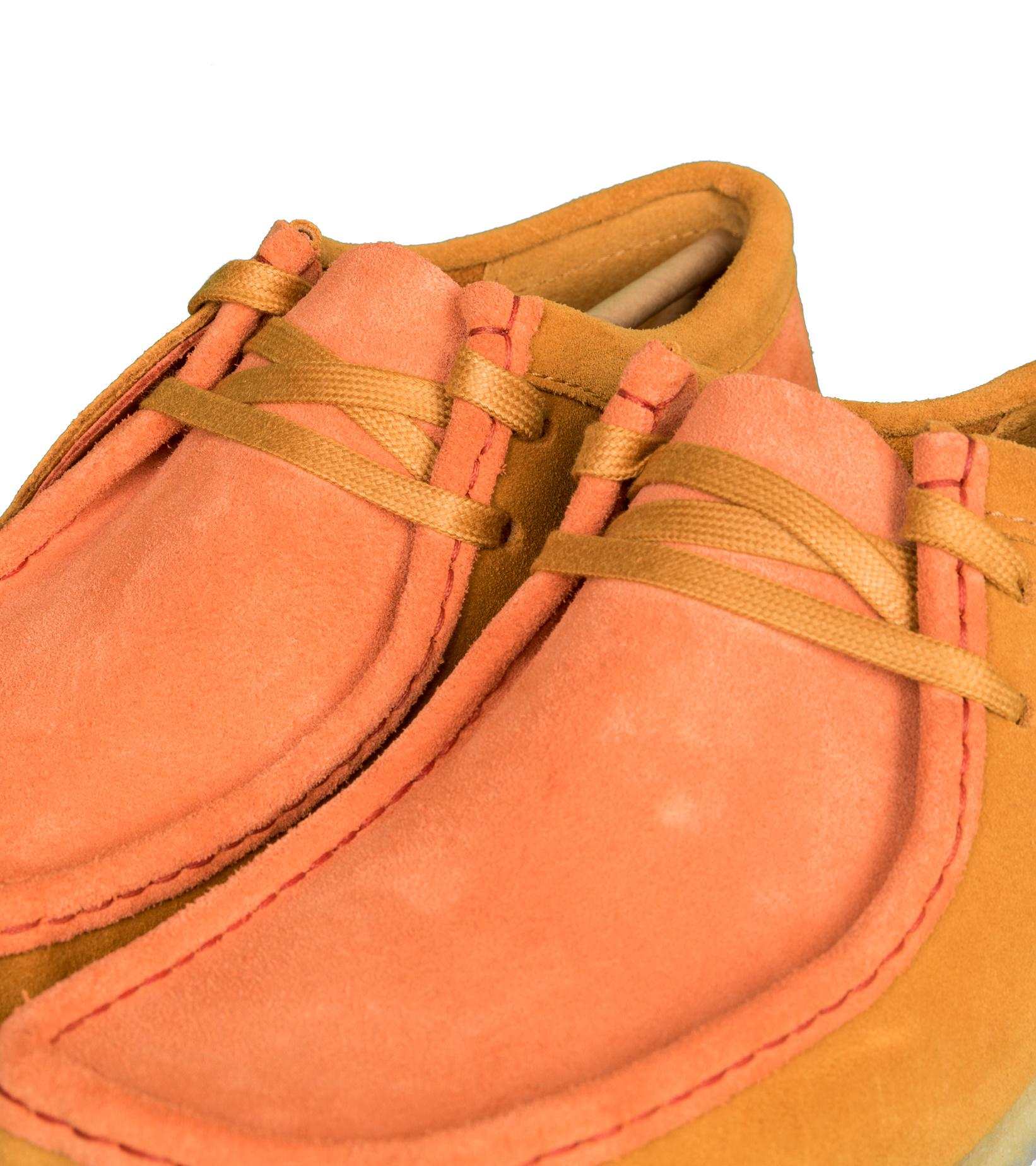 """Wallabee 2CLR """"Orange Combi""""-7"""