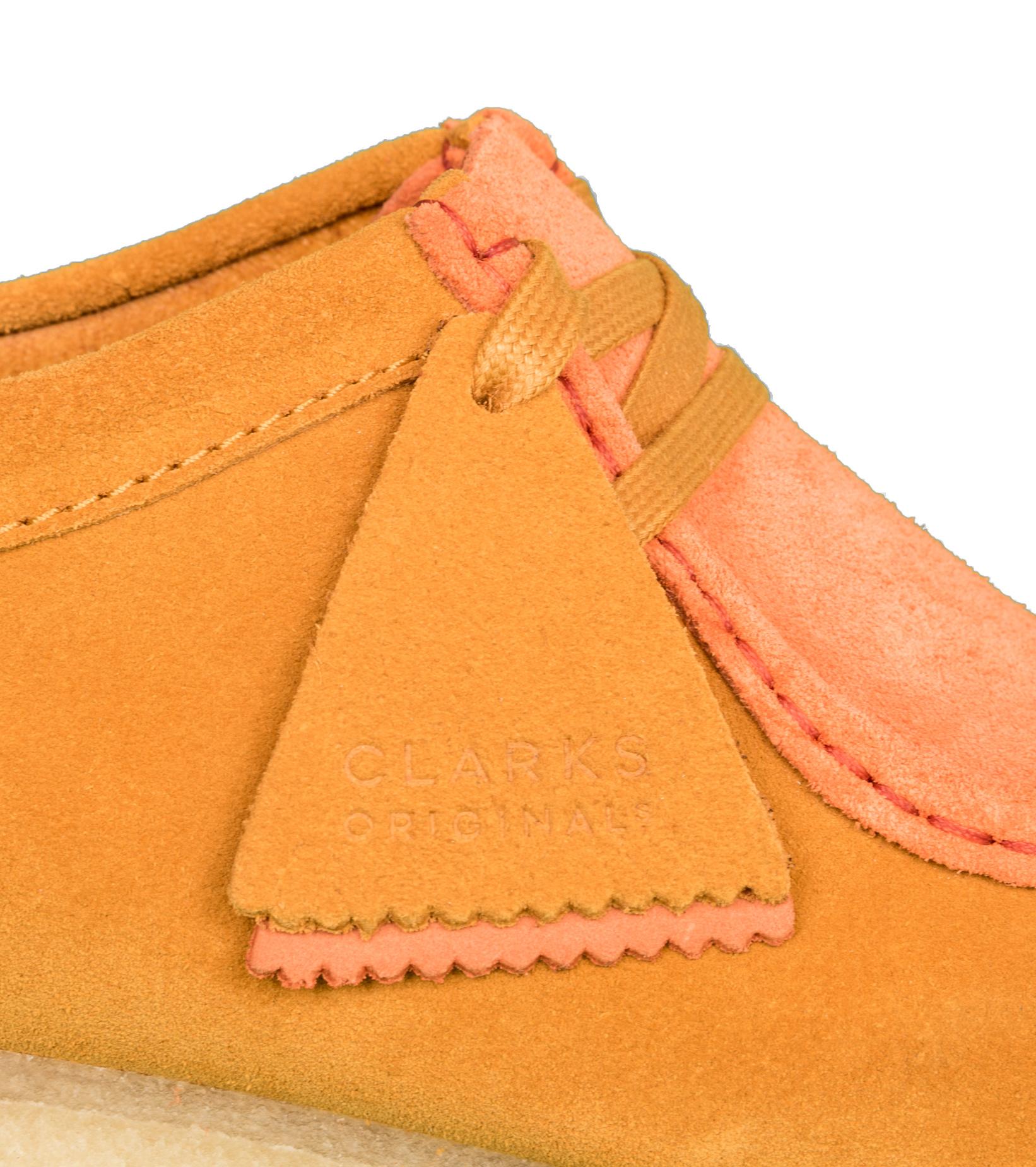 """Wallabee 2CLR """"Orange Combi""""-10"""