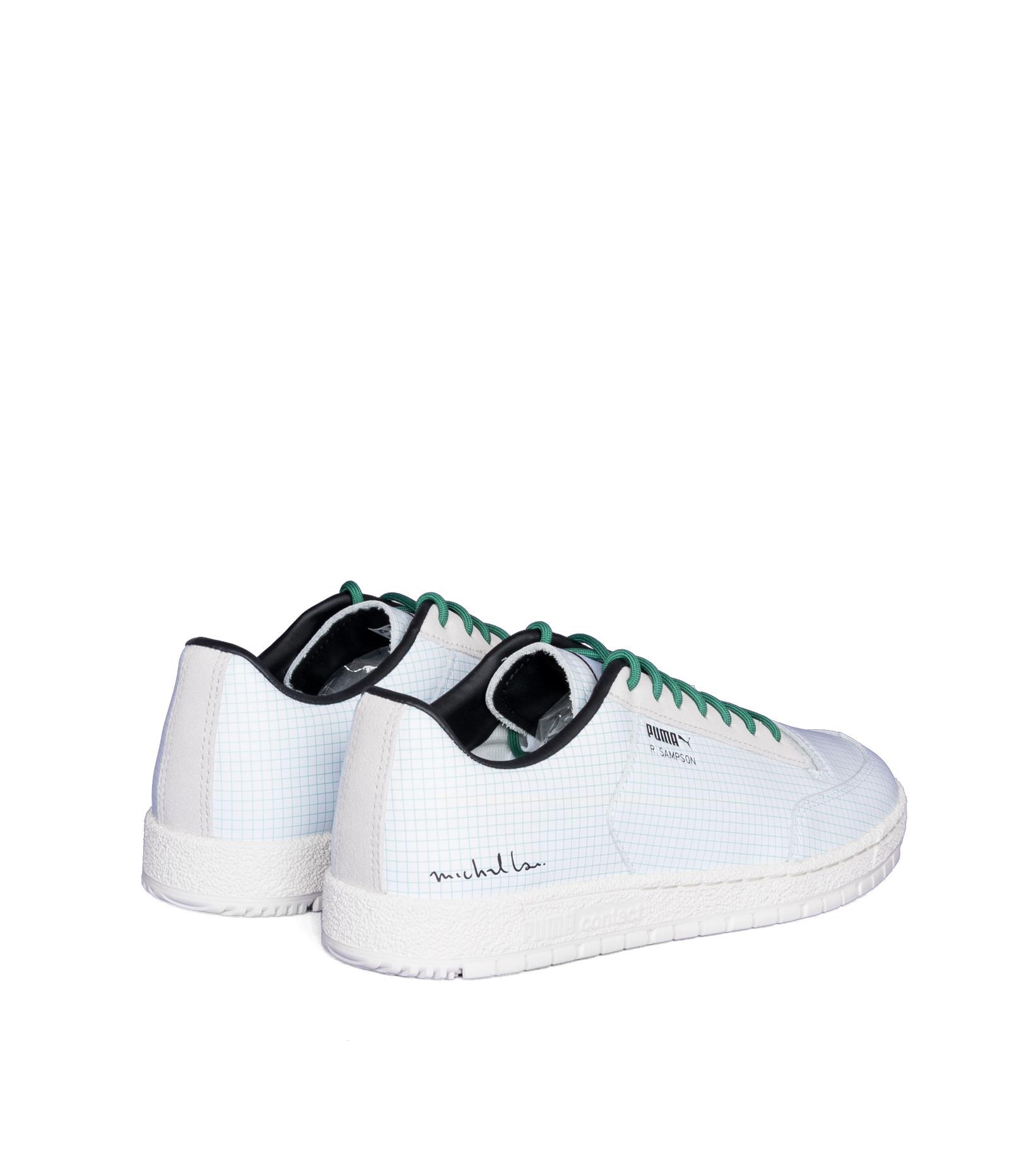 """R. Sampson '70 Clean x Michael Lau """"White/Green""""-2"""