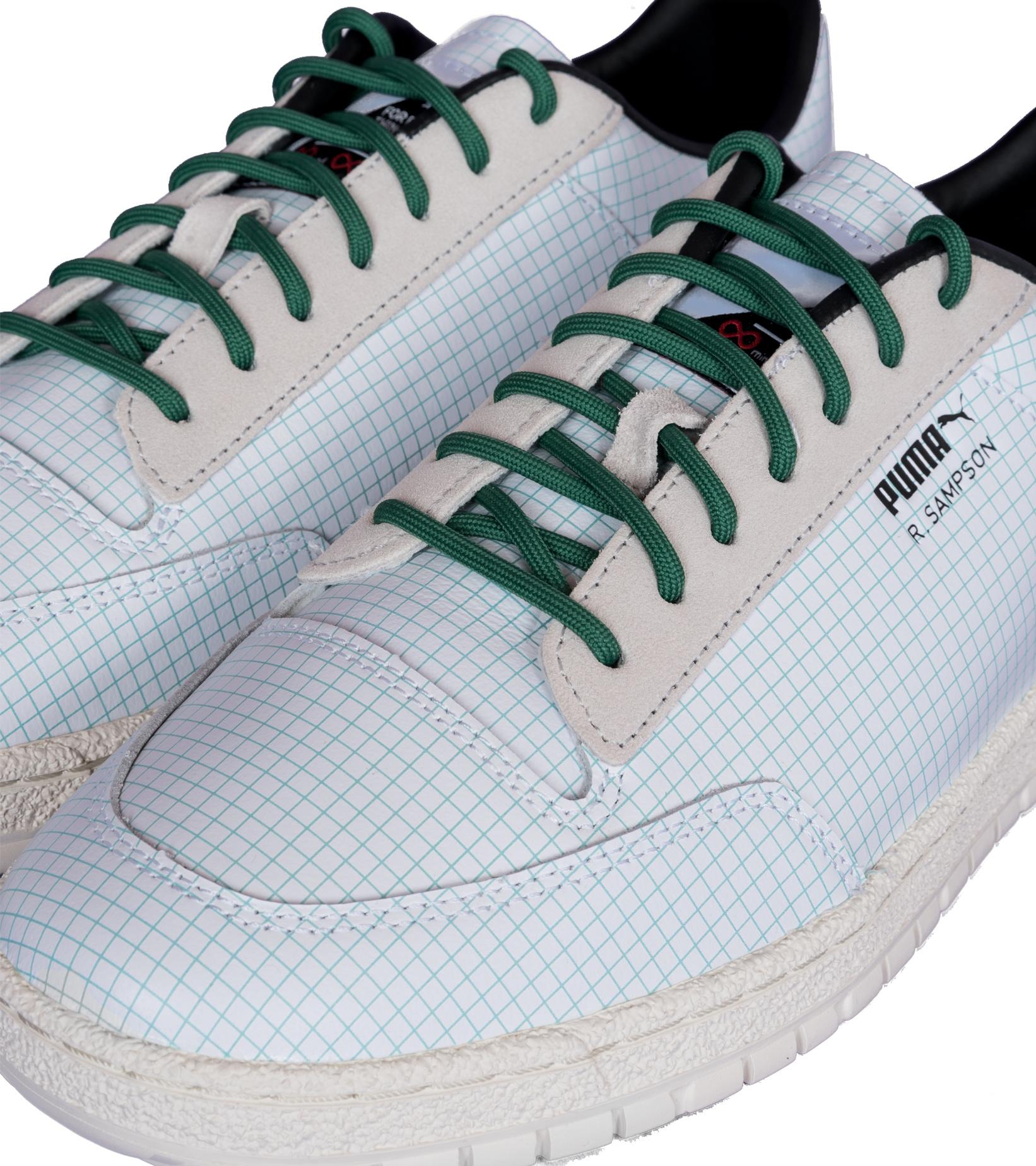 """R. Sampson '70 Clean x Michael Lau """"White/Green""""-7"""