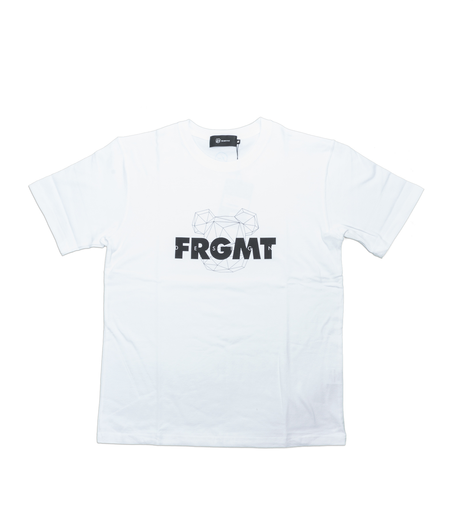 """Be@rtee x Fragmentdesign FRGMT Spray Logo Tee """"White""""-1"""
