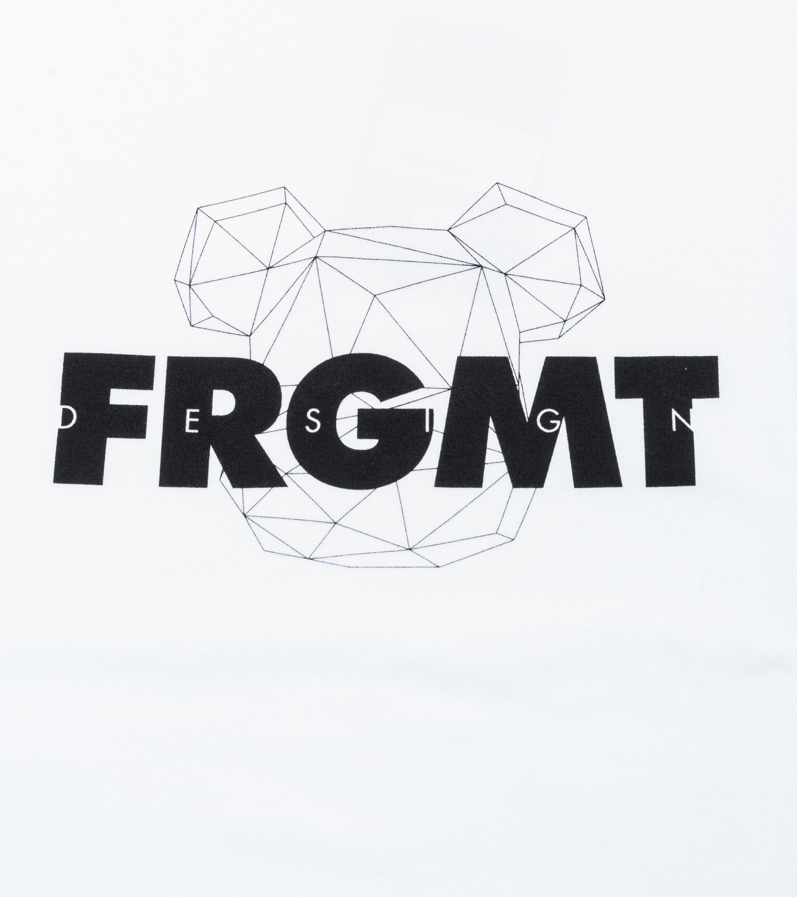 """Be@rtee x Fragmentdesign FRGMT Spray Logo Tee """"White""""-2"""