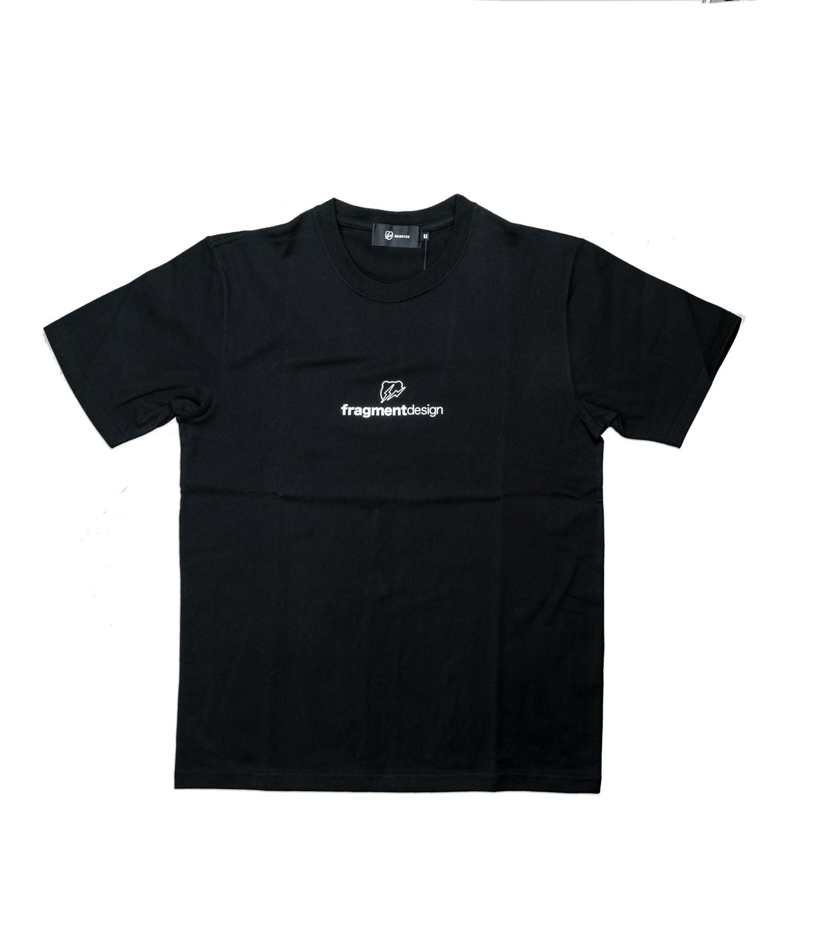 "Be@rtee x Fragmentdesign FRGMT Logo Tee ""Black""-1"
