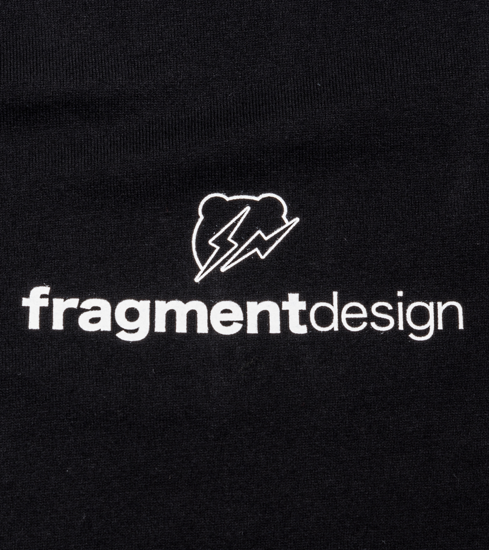"Be@rtee x Fragmentdesign FRGMT Logo Tee ""Black""-2"
