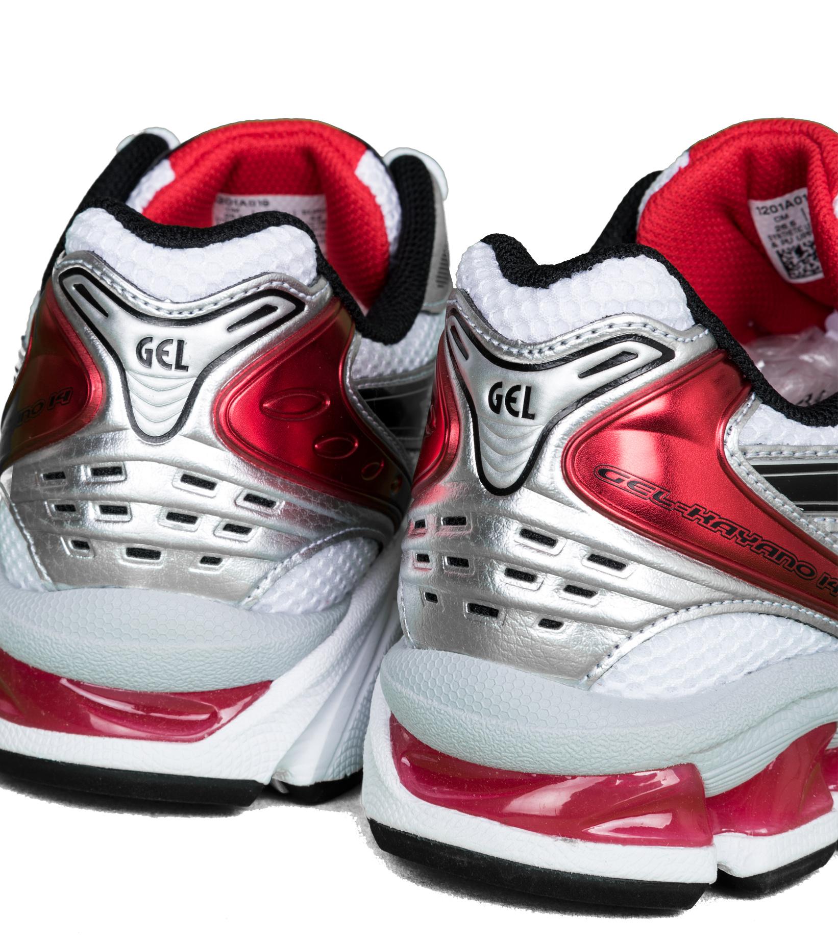 "Gel-Kayano 14 ""White/Classic Red""-6"