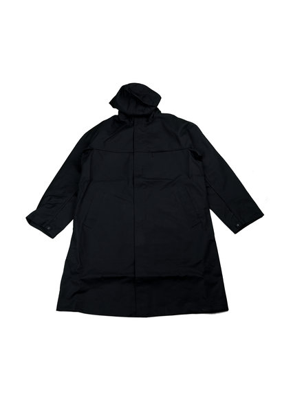 "Y-3 Racer Bonded Hooded Trenchcoat ""Black"""