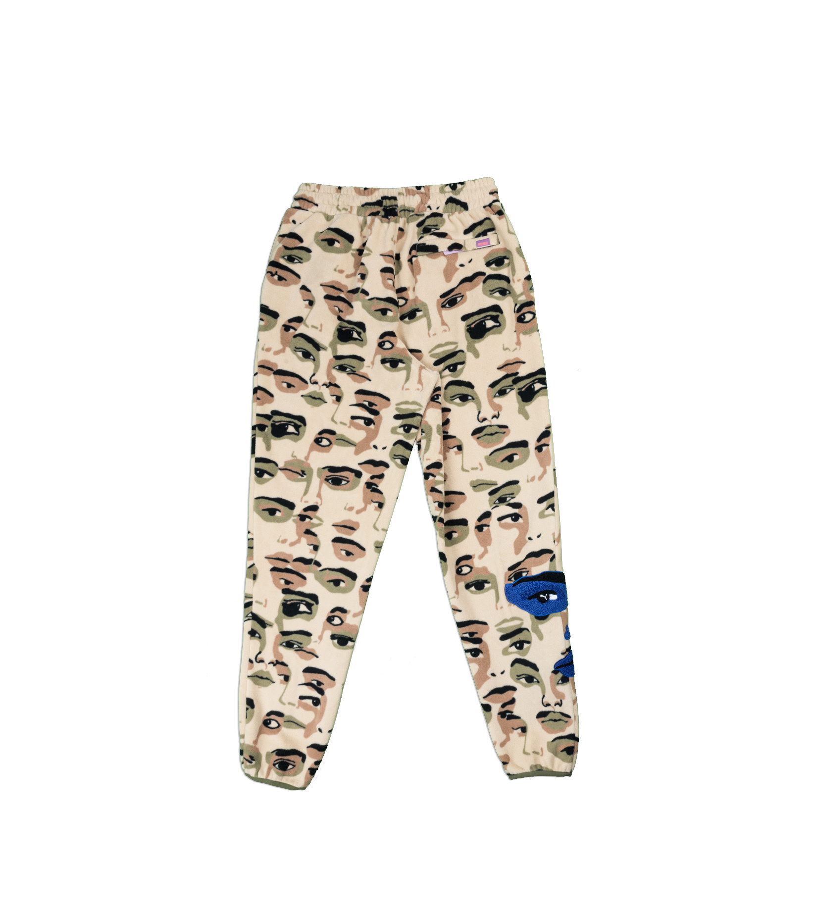 "AOP Fleece Pants x Kid Super ""Pale Khaki""-7"