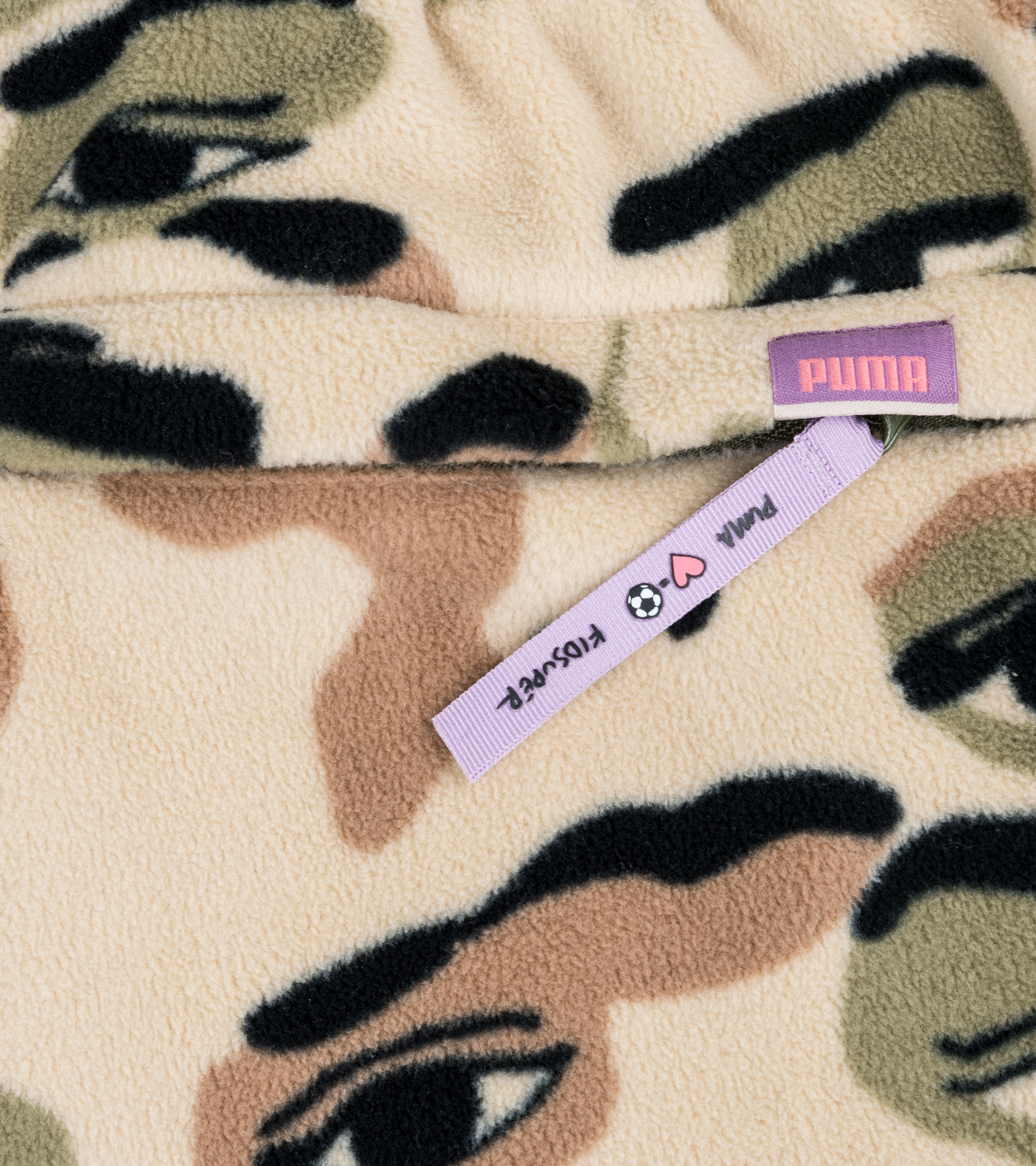 "AOP Fleece Pants x Kid Super ""Pale Khaki""-8"